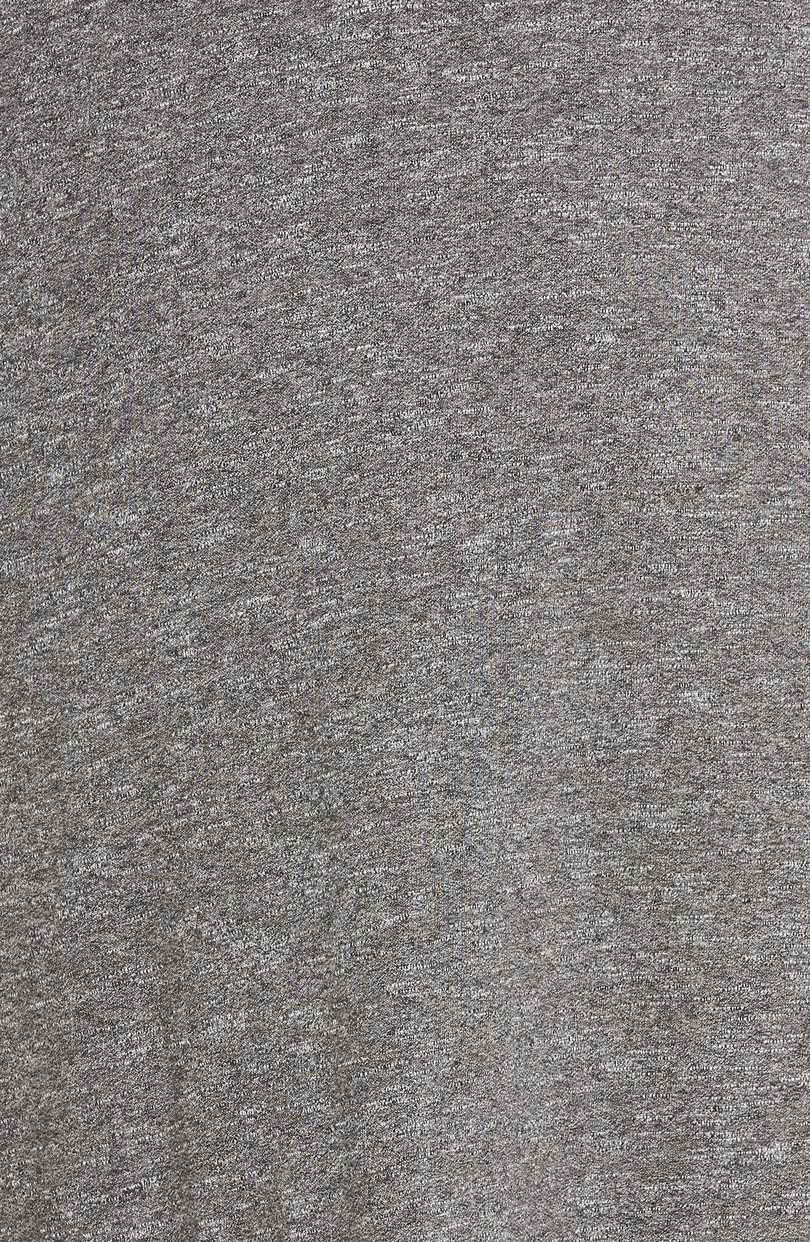 Knot Strap Knit Swing Dress,                             Alternate thumbnail 6, color,                             030