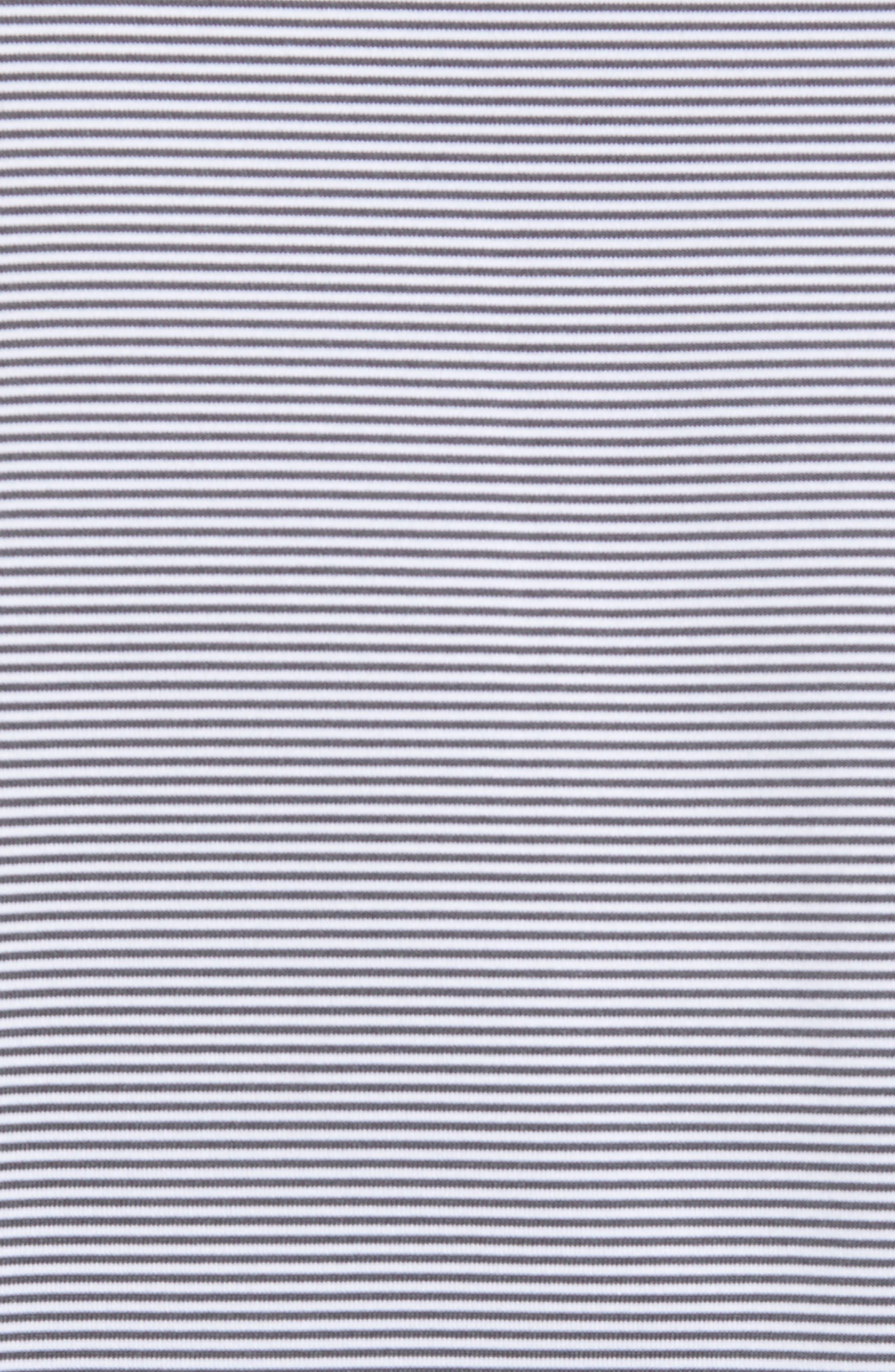Jubilee Stripe Stretch Jersey Performance Polo,                             Alternate thumbnail 5, color,                             020