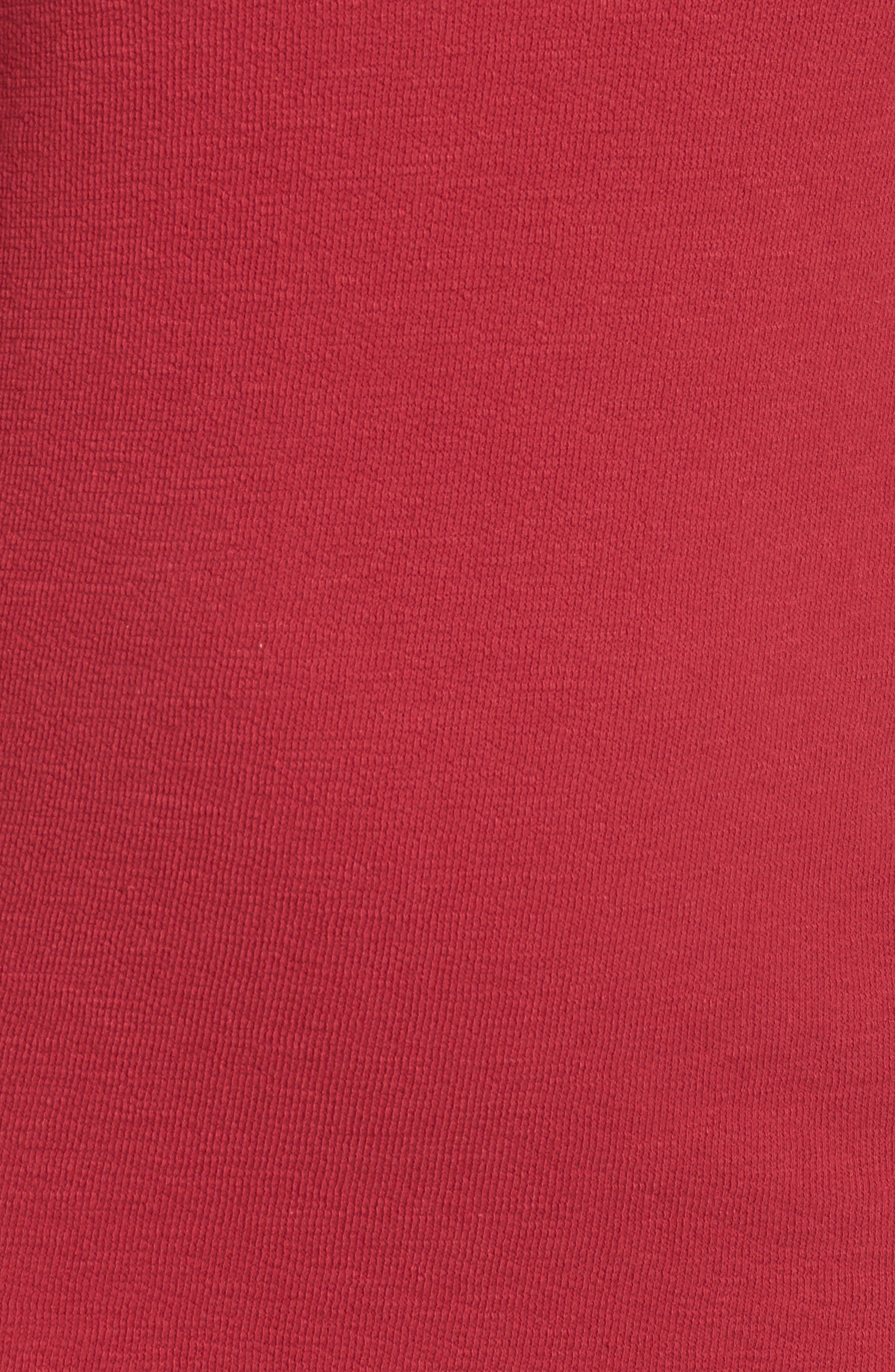 Ruffle Sleeve Knit Dress,                             Alternate thumbnail 15, color,