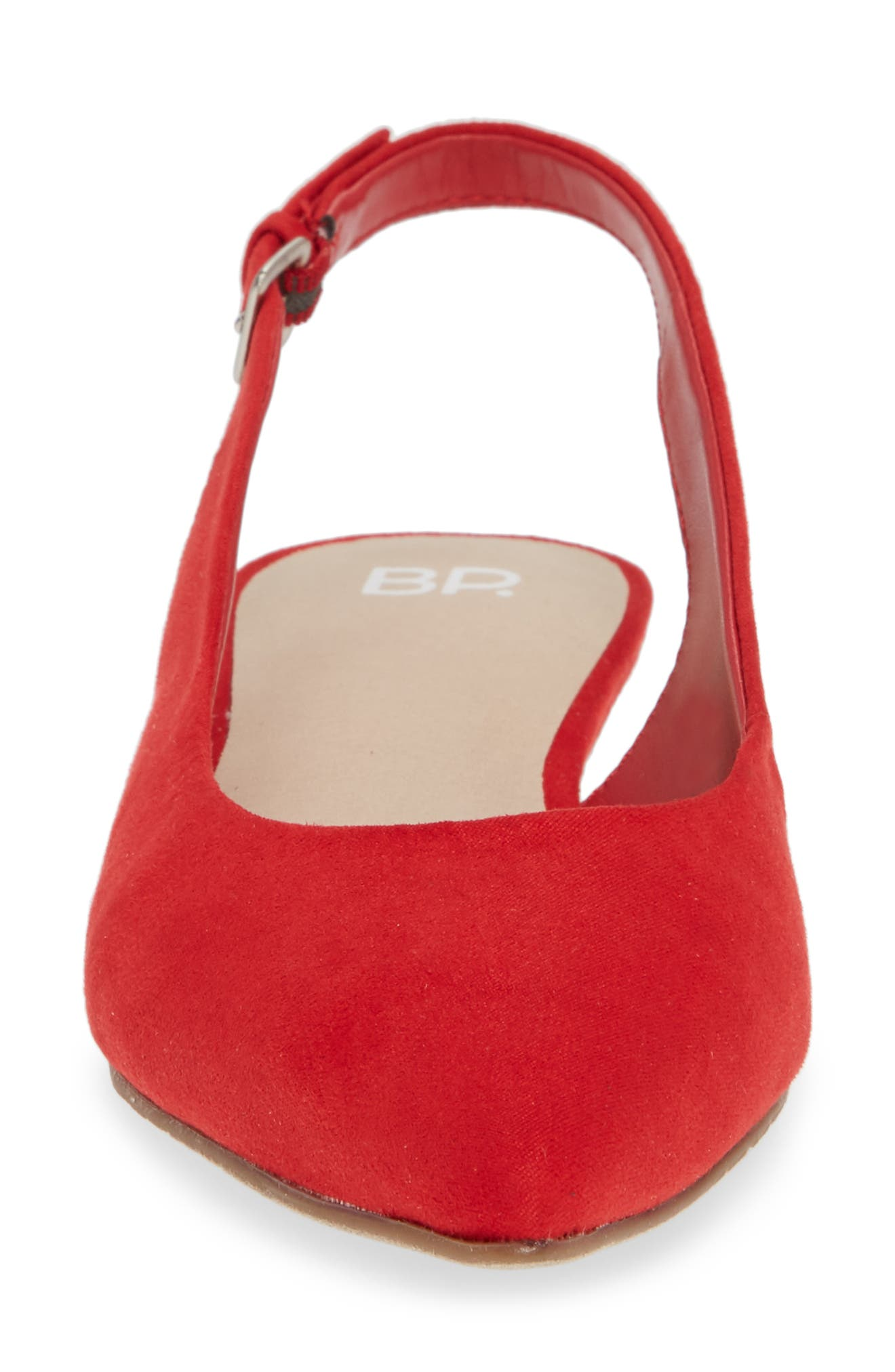 Sandra Slingback Flat,                             Alternate thumbnail 4, color,                             600