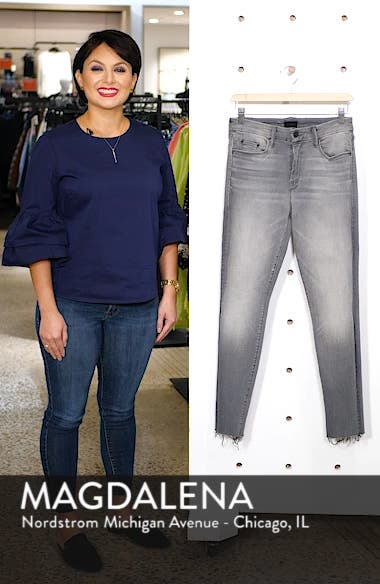 The Looker Frayed Ankle Jeans, sales video thumbnail