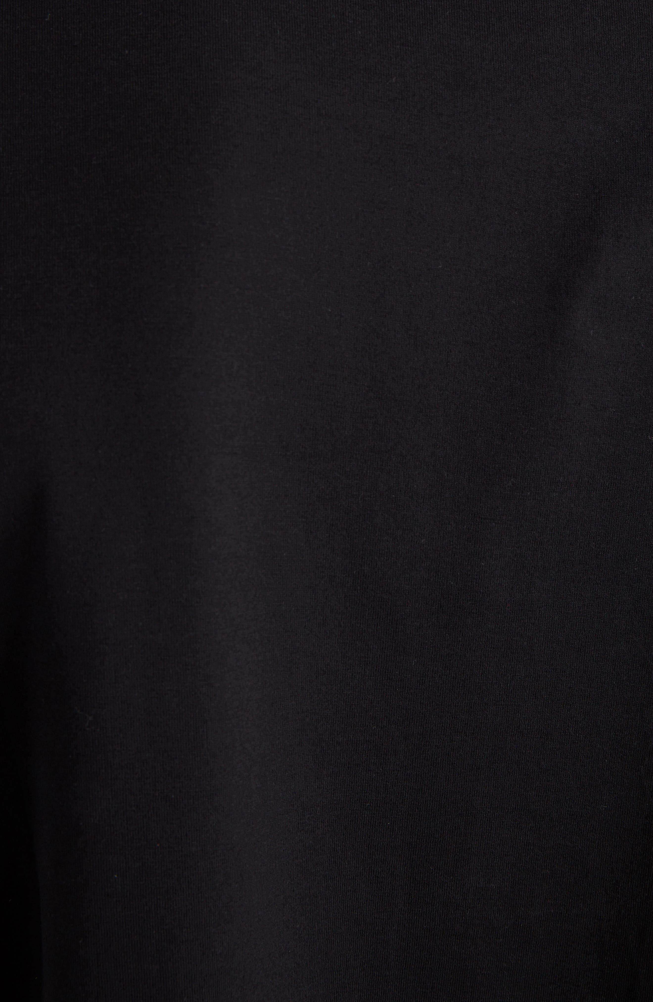 Abstract 4G Logo T-Shirt,                             Alternate thumbnail 5, color,                             BLACK