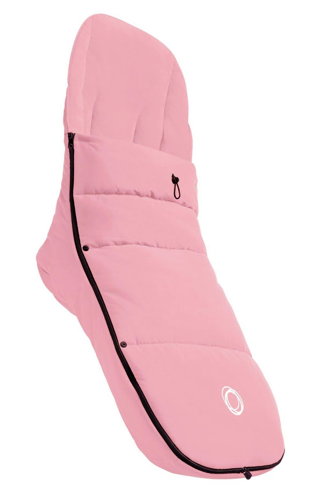 Stroller Footmuff,                         Main,                         color, PINK