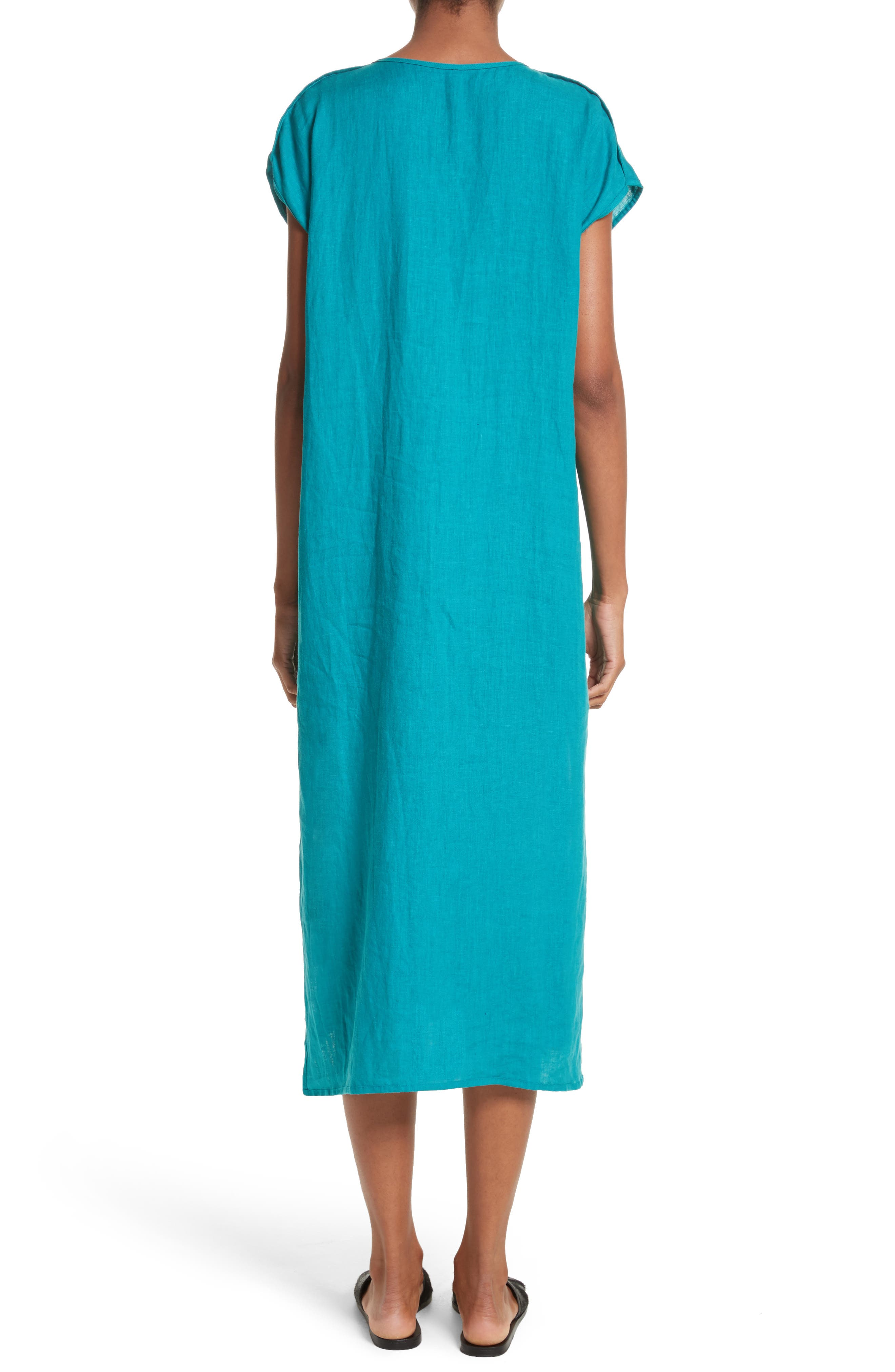 Cecil Cap Sleeve Tunic Dress,                             Alternate thumbnail 2, color,                             440