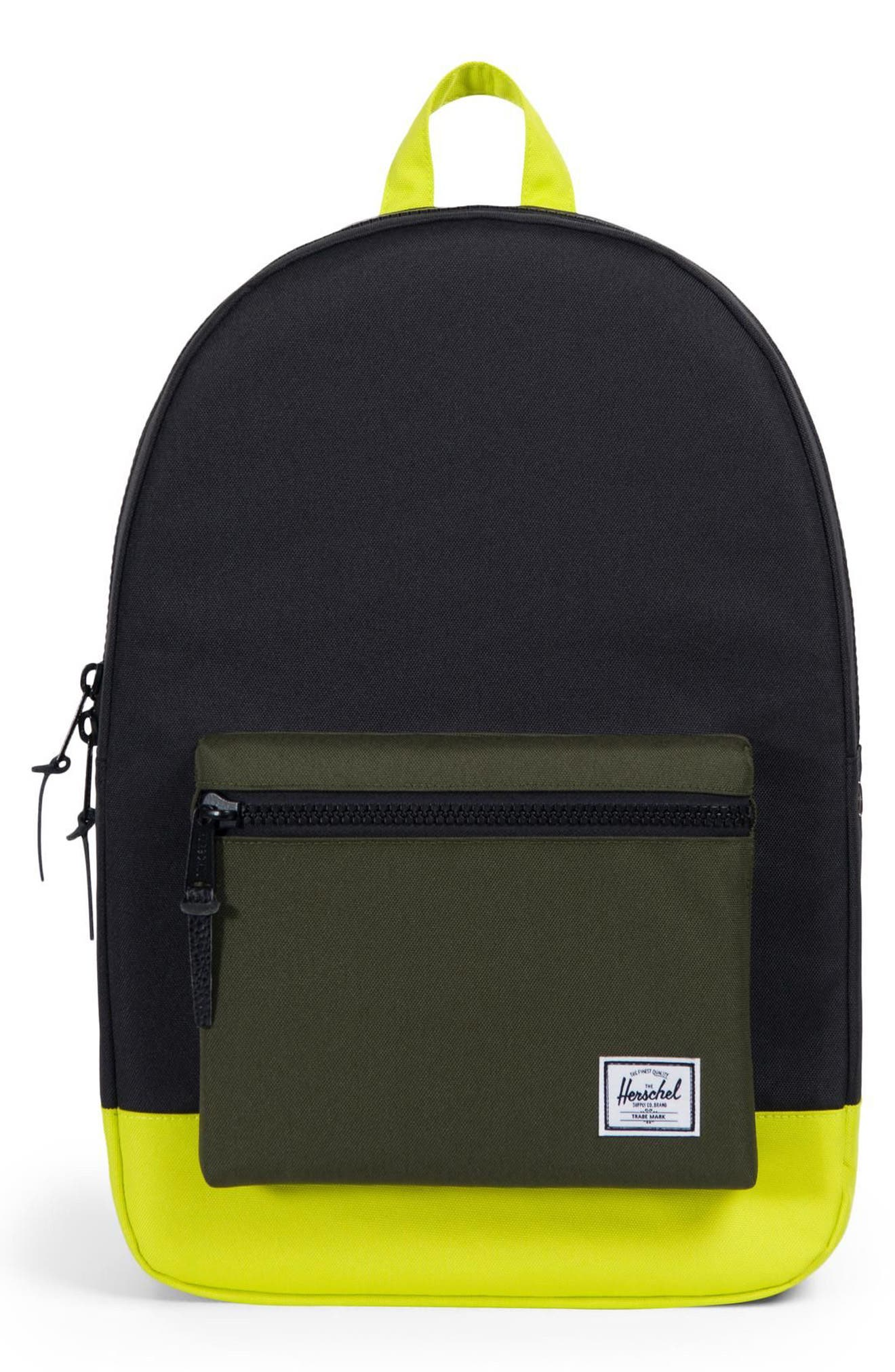 Settlement Backpack,                             Main thumbnail 1, color,                             FOREST NIGHT/ EVENING PRIMROSE