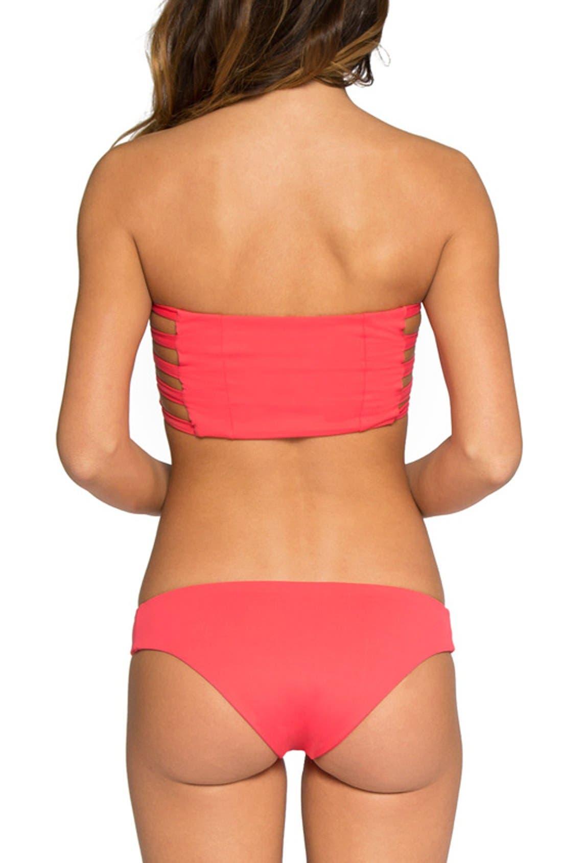'Ali' Moderate Coverage Bikini Bottoms,                             Alternate thumbnail 64, color,