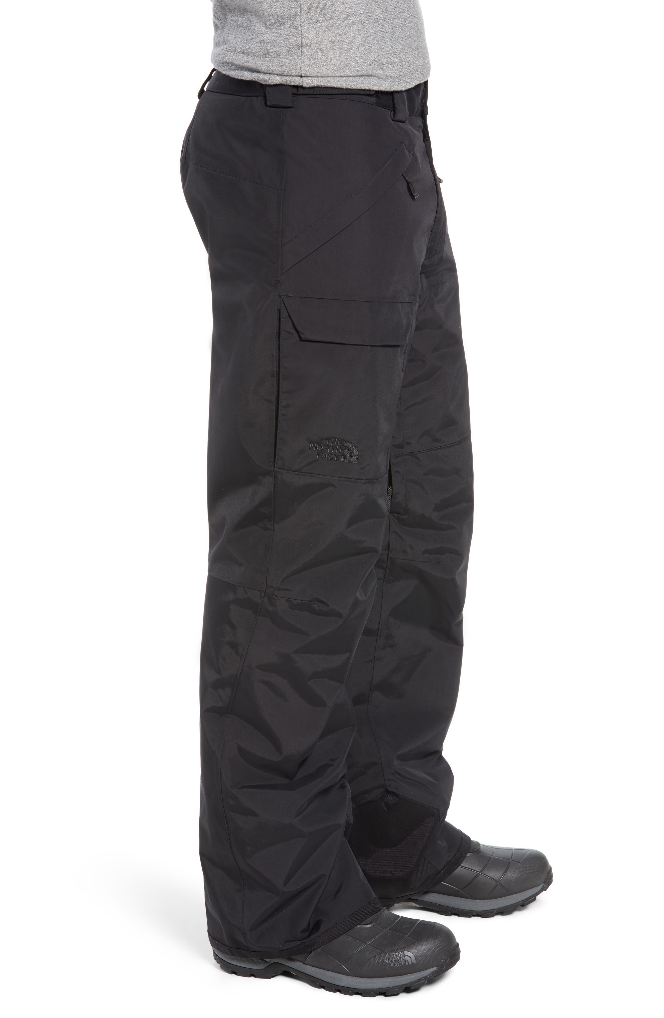 Freedom Heatseeker Insulated Snow Pants,                             Alternate thumbnail 3, color,                             TNF BLACK