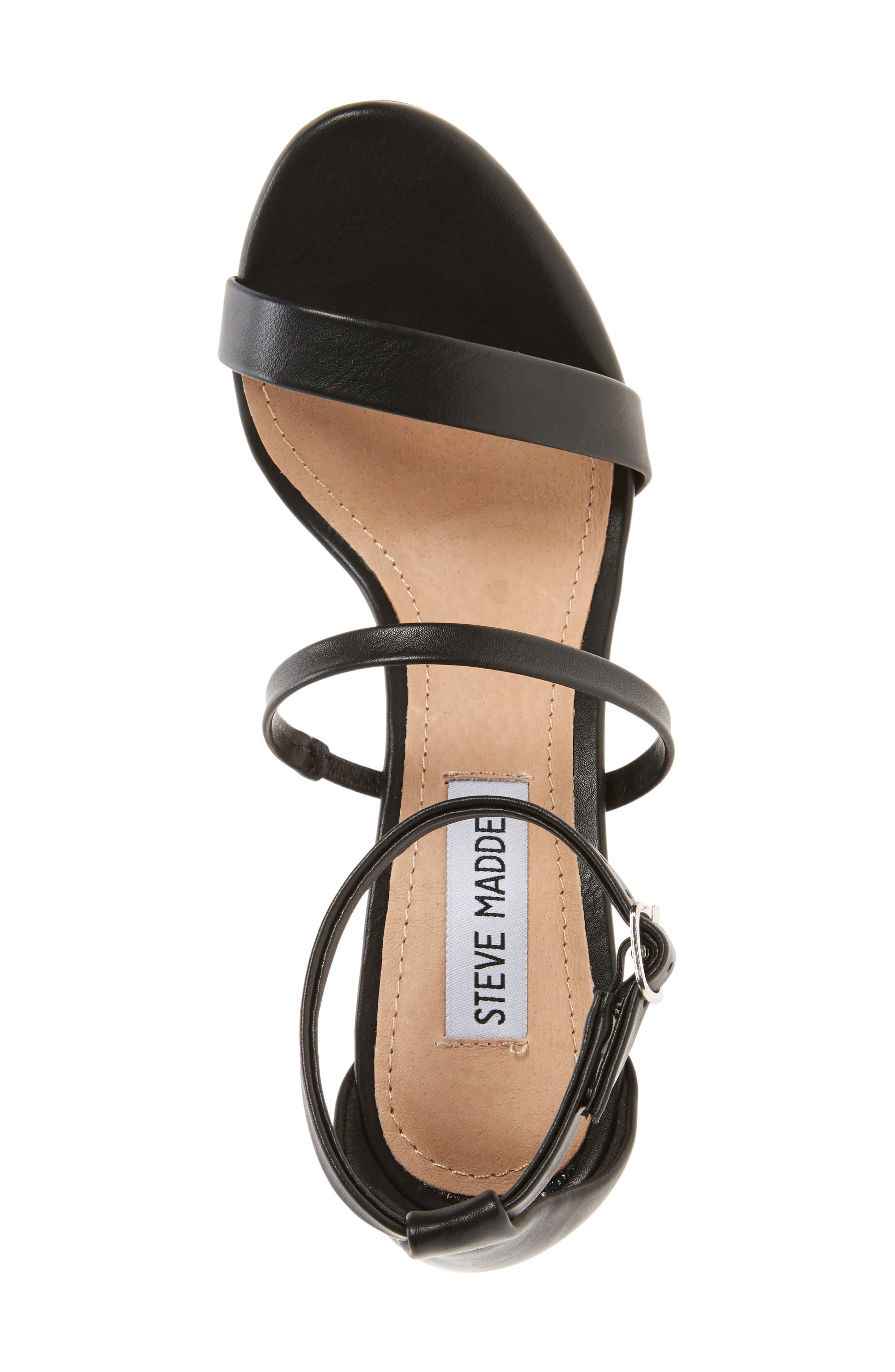 Sheena Strappy Sandal,                             Alternate thumbnail 3, color,                             001