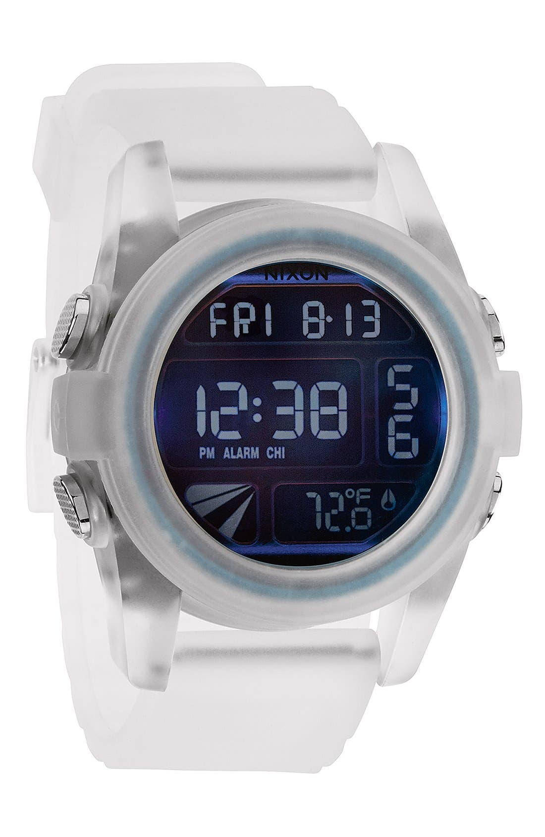 'The Unit' Round Digital Watch, 44mm,                             Alternate thumbnail 50, color,