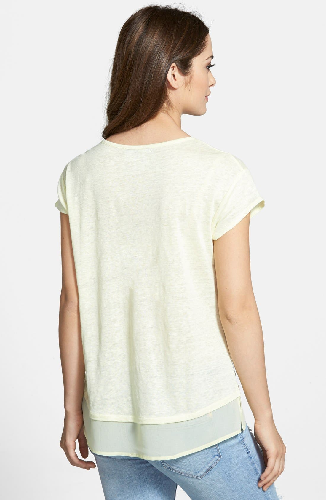 City Mix Layered Look Tee,                             Alternate thumbnail 48, color,