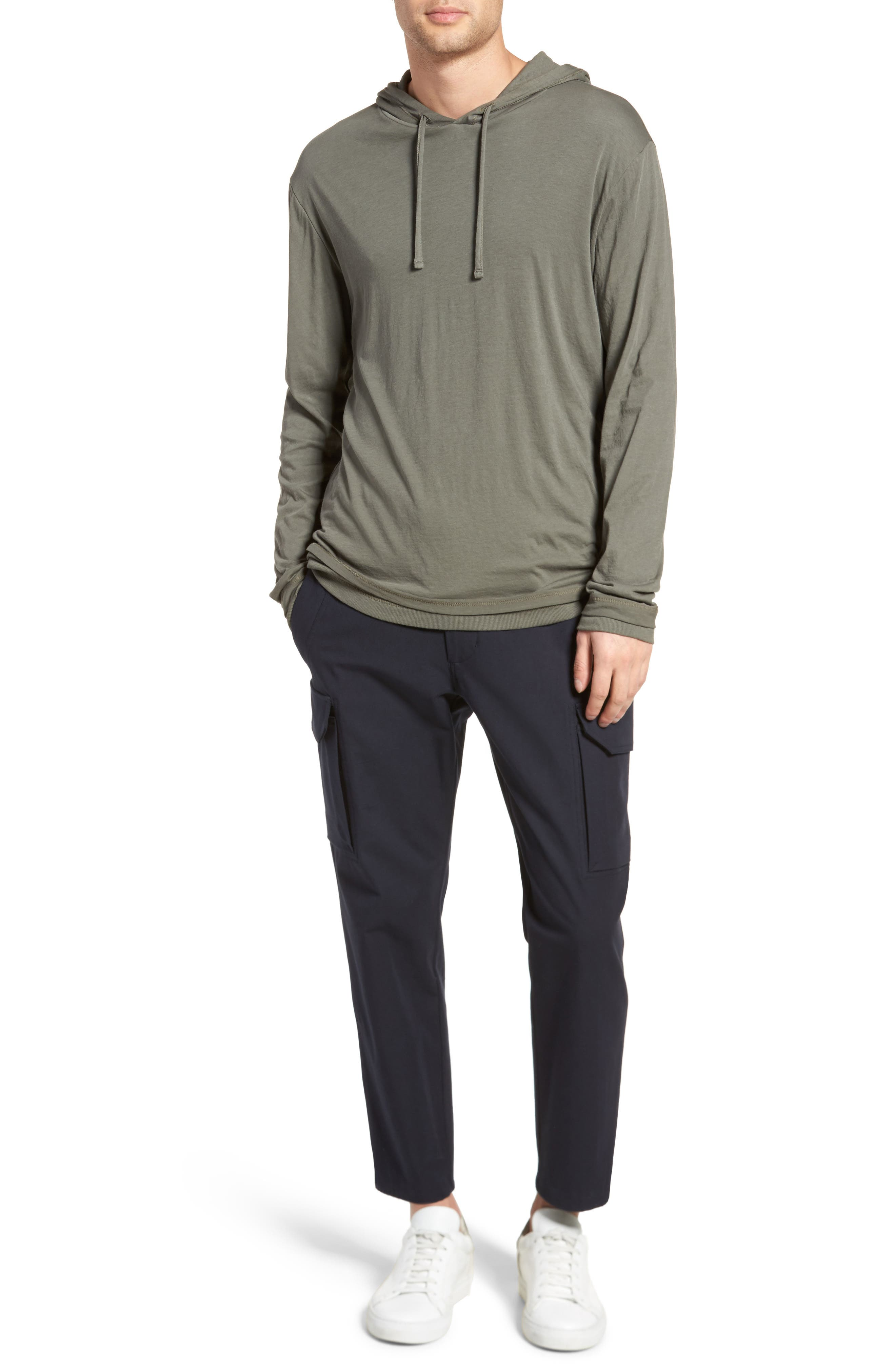Double Layer Hoodie,                             Alternate thumbnail 7, color,                             374