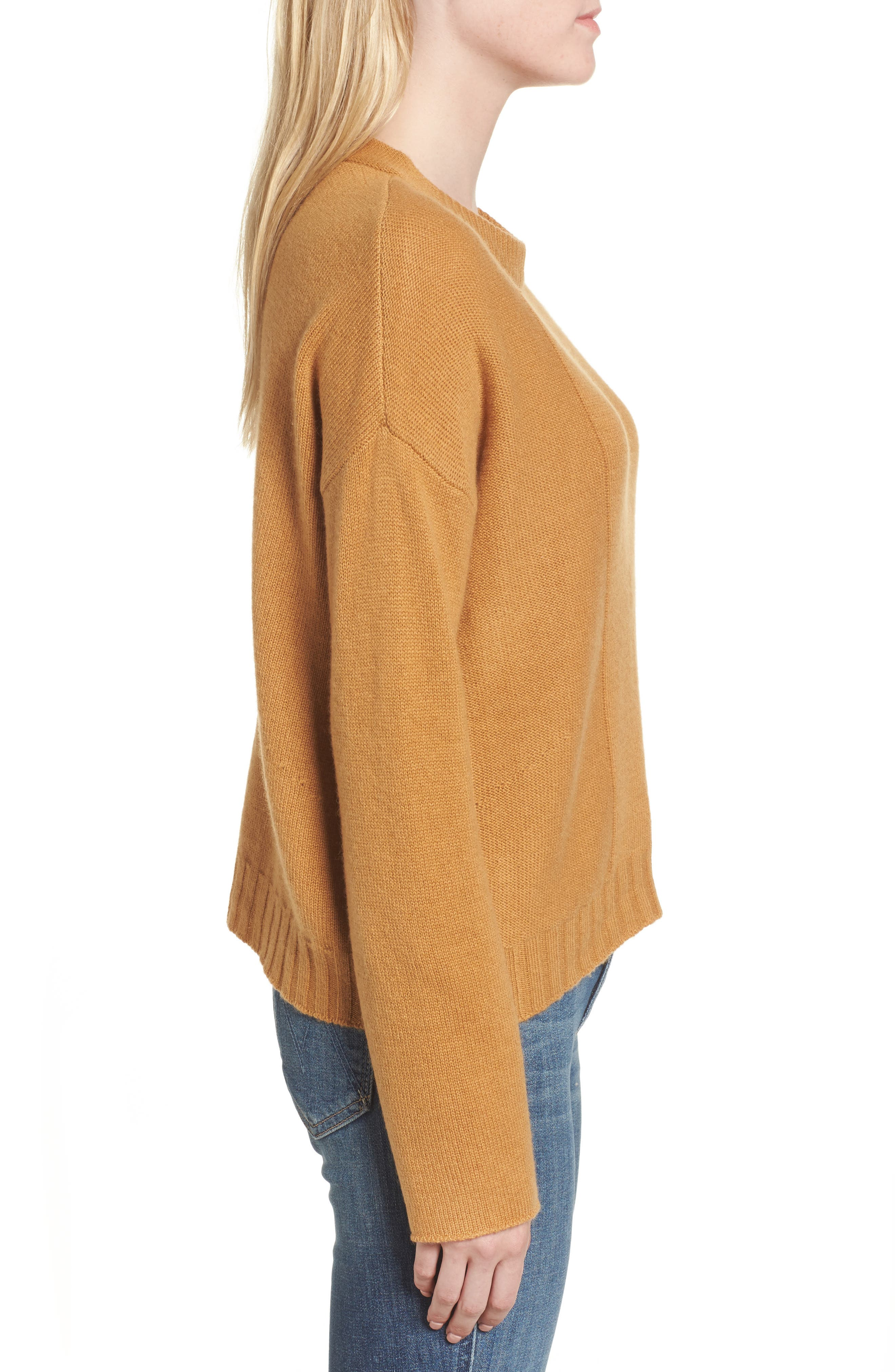 Joanna Wool & Cashmere Sweater,                             Alternate thumbnail 3, color,                             200