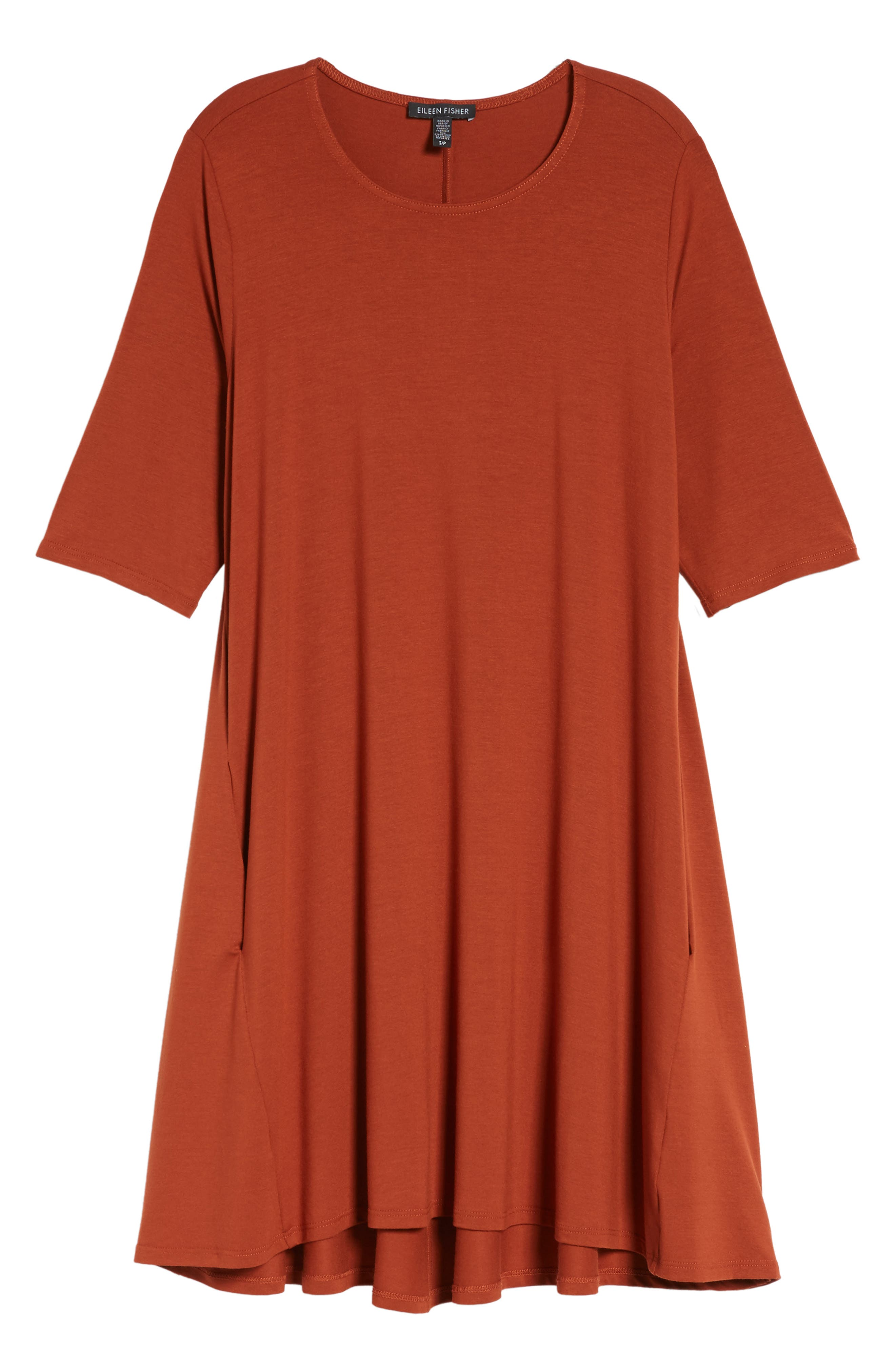 Lightweight Jersey Round Neck Tunic,                             Alternate thumbnail 33, color,