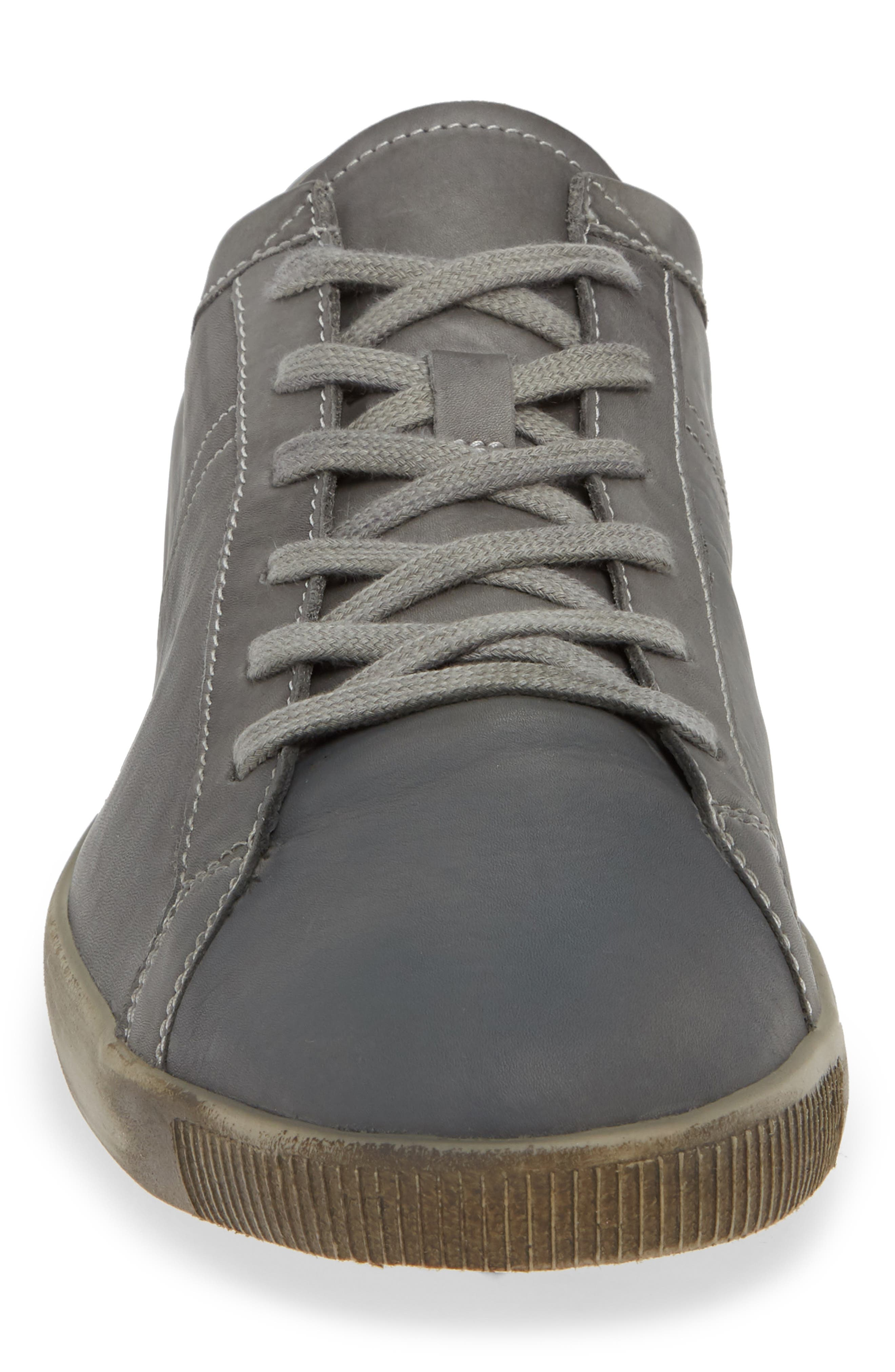 Tom Sneaker,                             Alternate thumbnail 4, color,                             MILITARY WASHED LEATHER