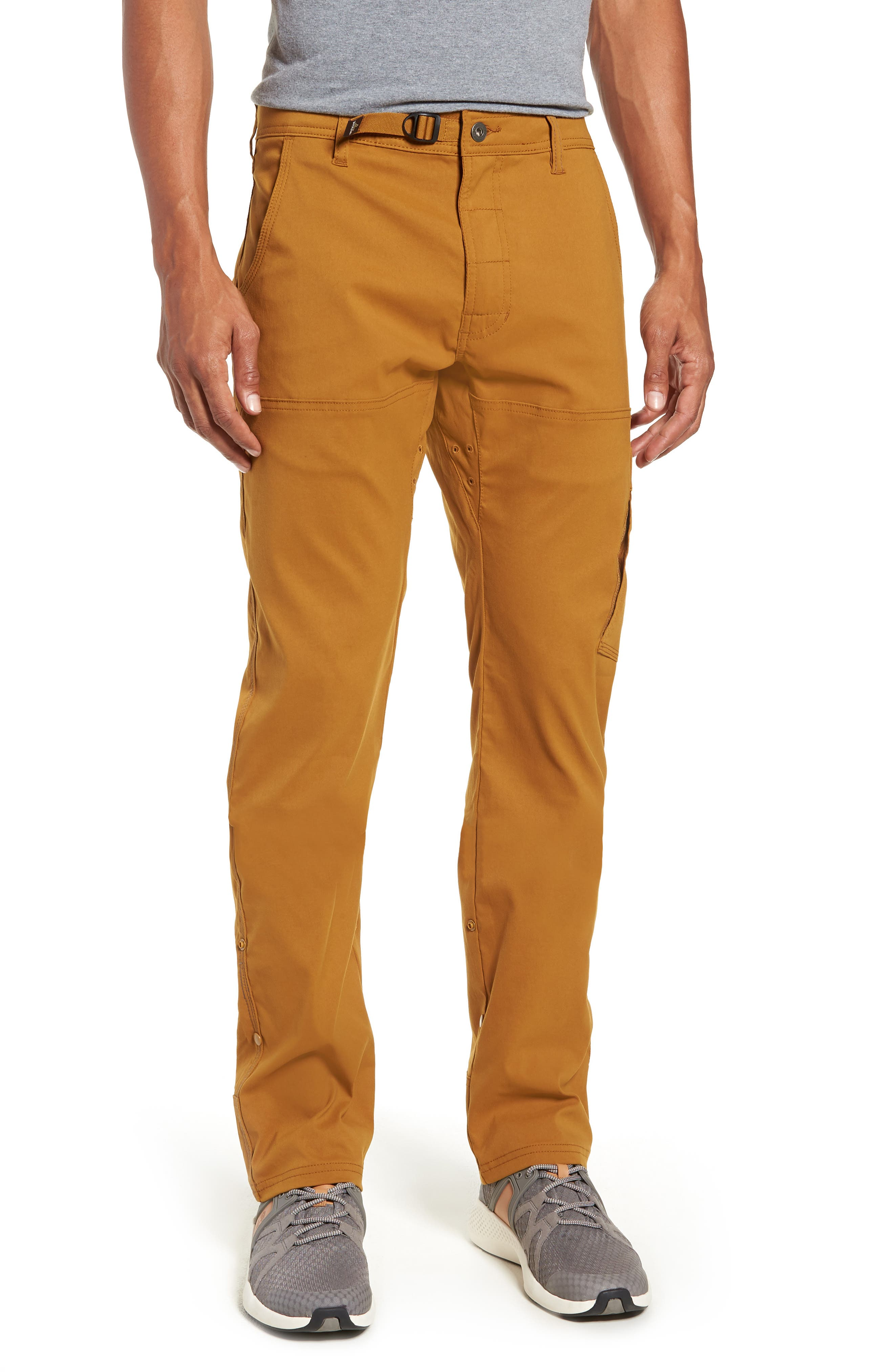 Stretch Zion Roll Pants,                         Main,                         color, BRONZED