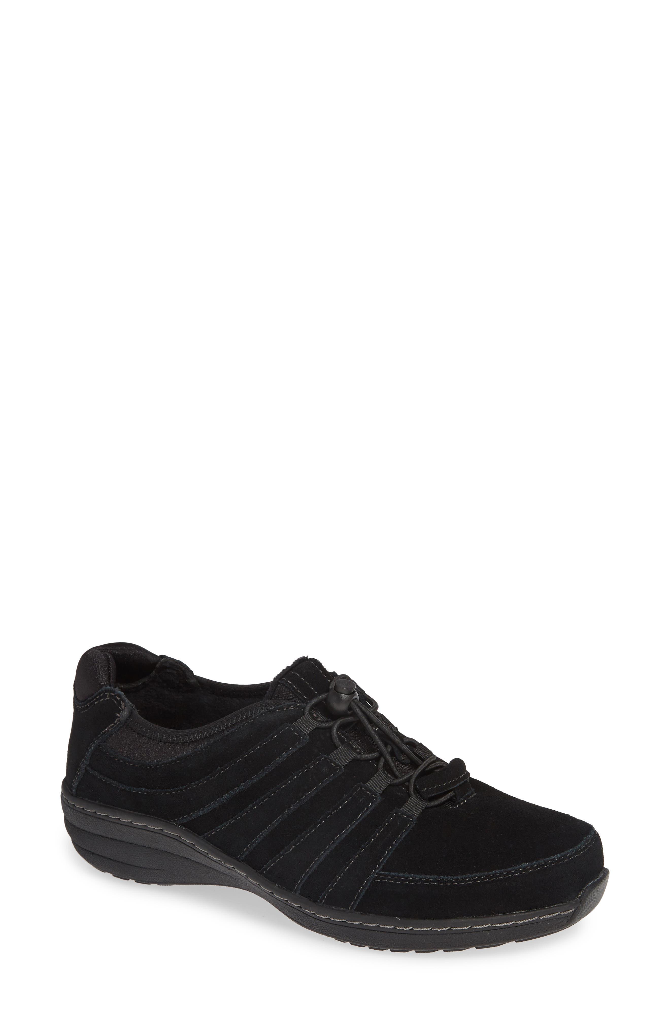 Aetrex Laney Sneaker, Black