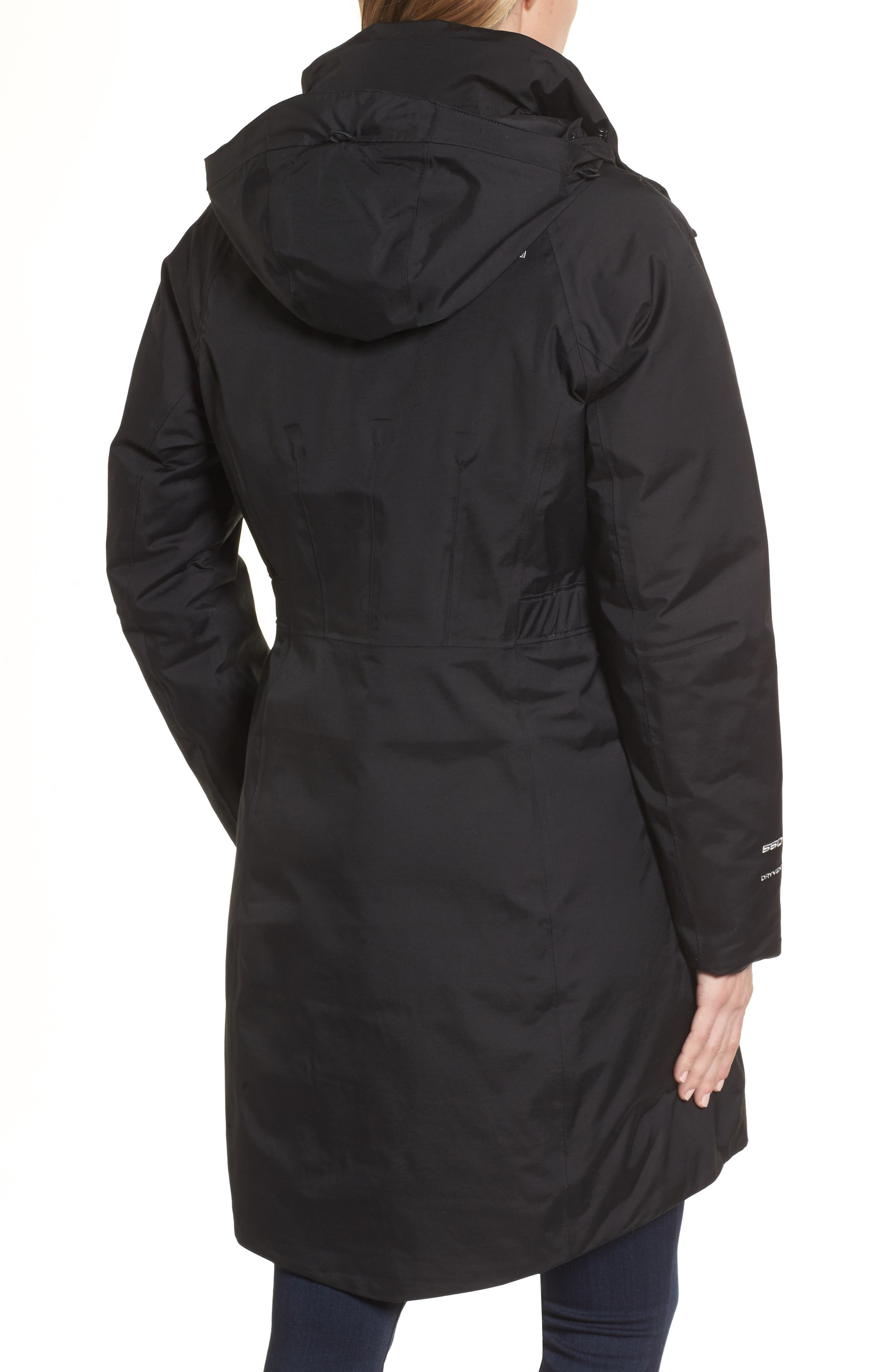 Arctic II Waterproof 550-Fill-Power Down Parka with Faux Fur Trim,                             Alternate thumbnail 6, color,