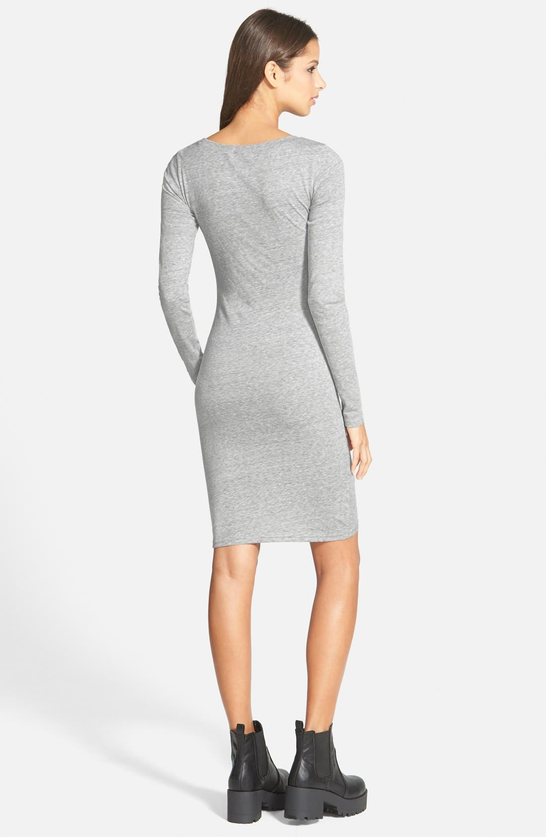 Ruched Long Sleeve Dress,                             Alternate thumbnail 29, color,