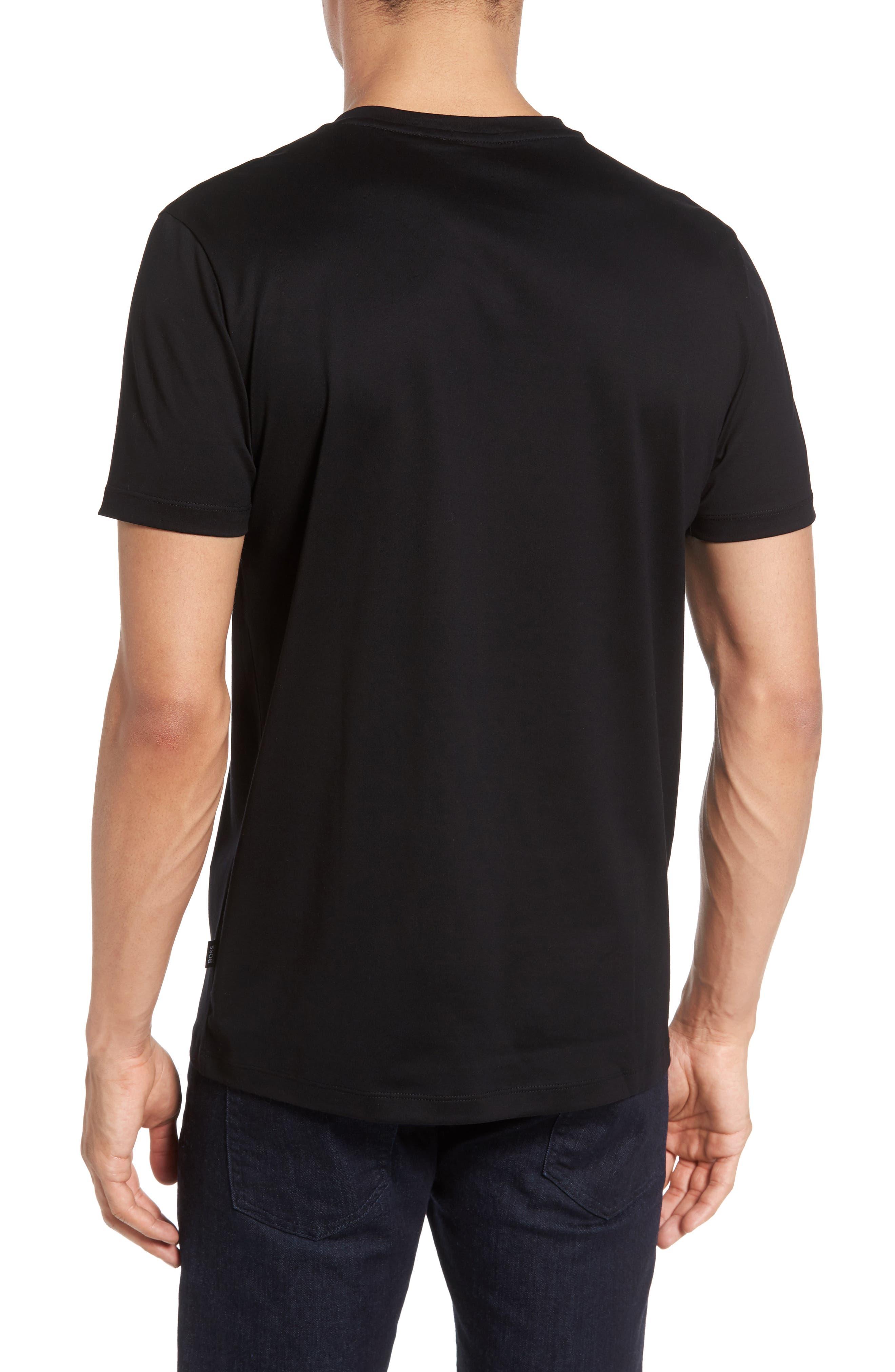 V-Neck T-Shirt,                             Alternate thumbnail 2, color,                             001