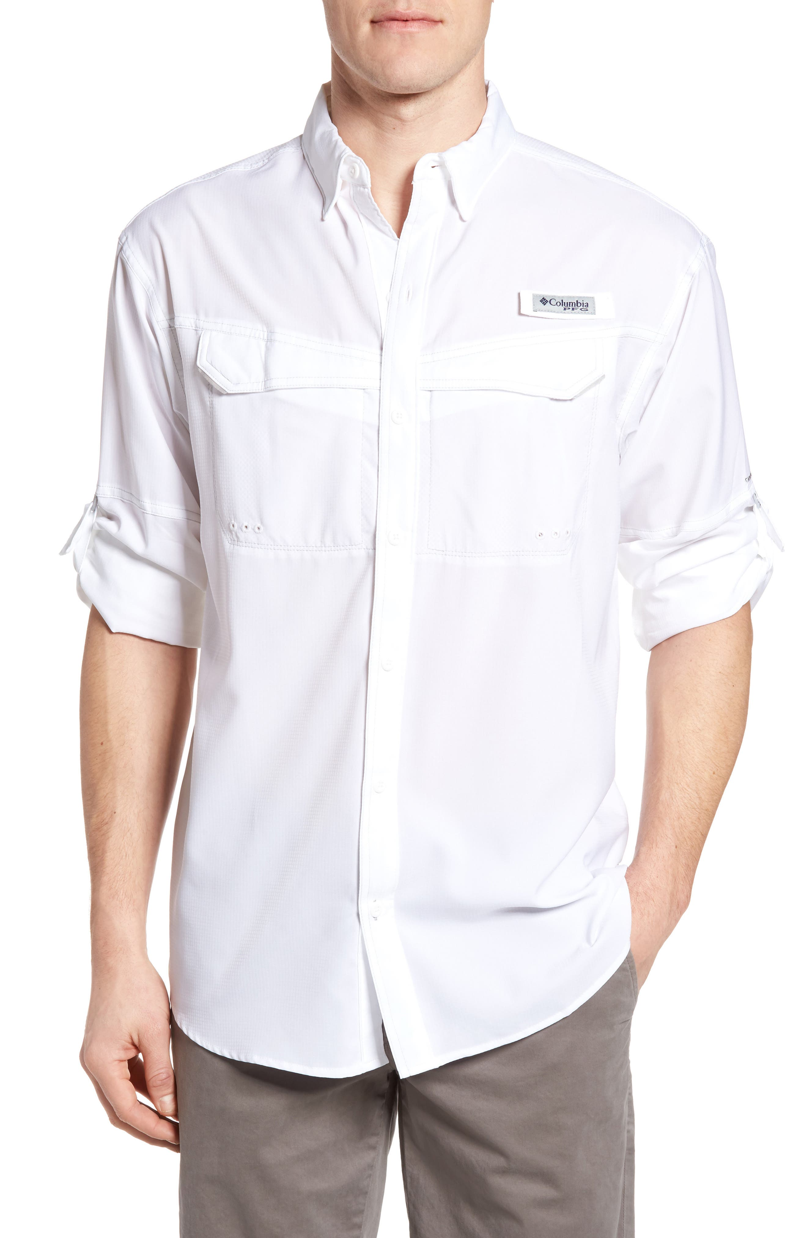 Low Drag Offshore Woven Shirt,                             Main thumbnail 7, color,
