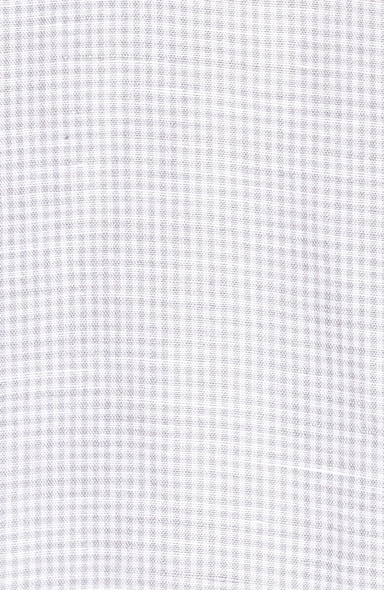 Sand Linen Island Modern Fit Sport Shirt,                             Alternate thumbnail 5, color,                             050
