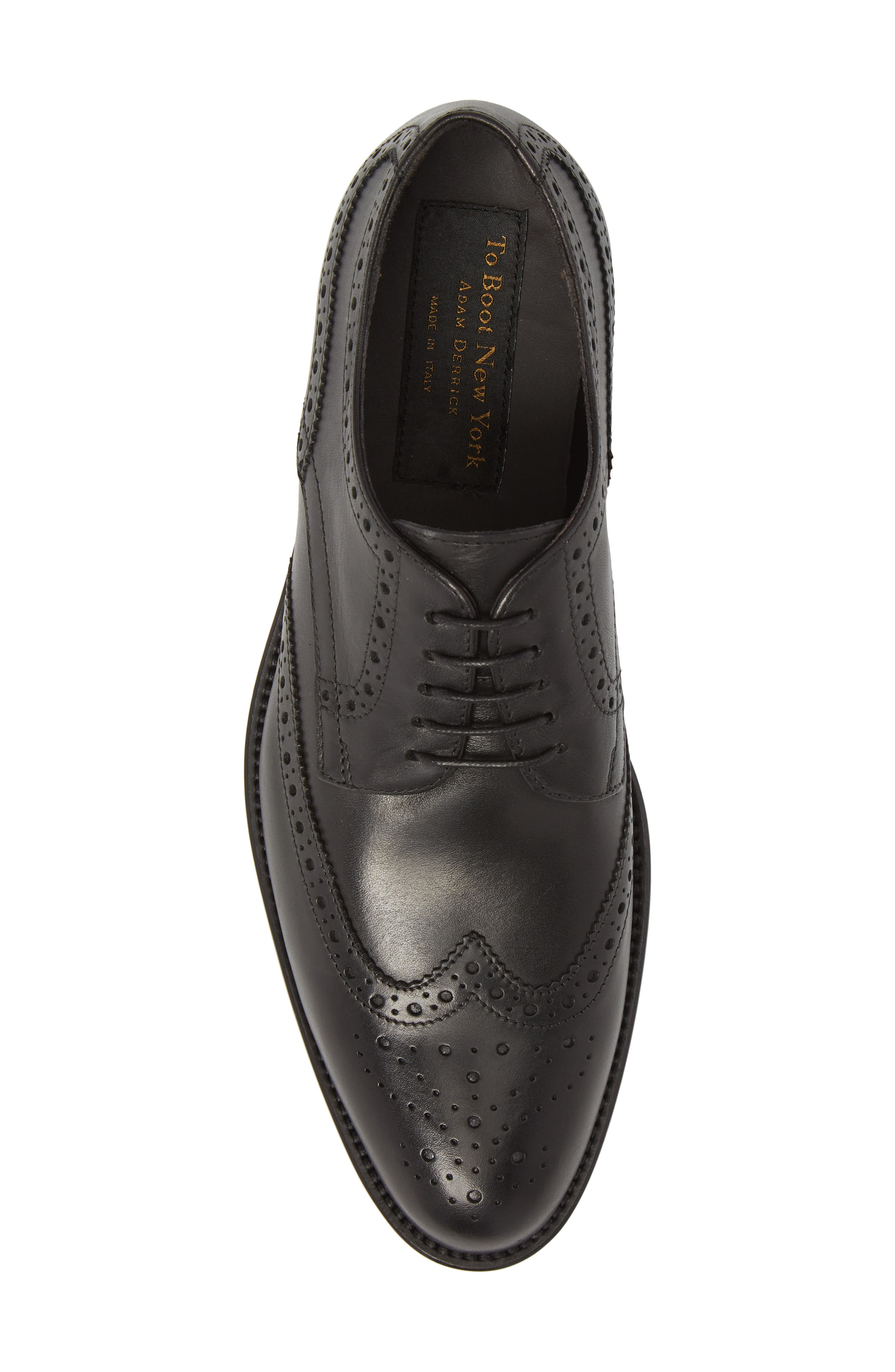TO BOOT NEW YORK,                             Heinrich Wingtip Derby,                             Alternate thumbnail 5, color,                             001