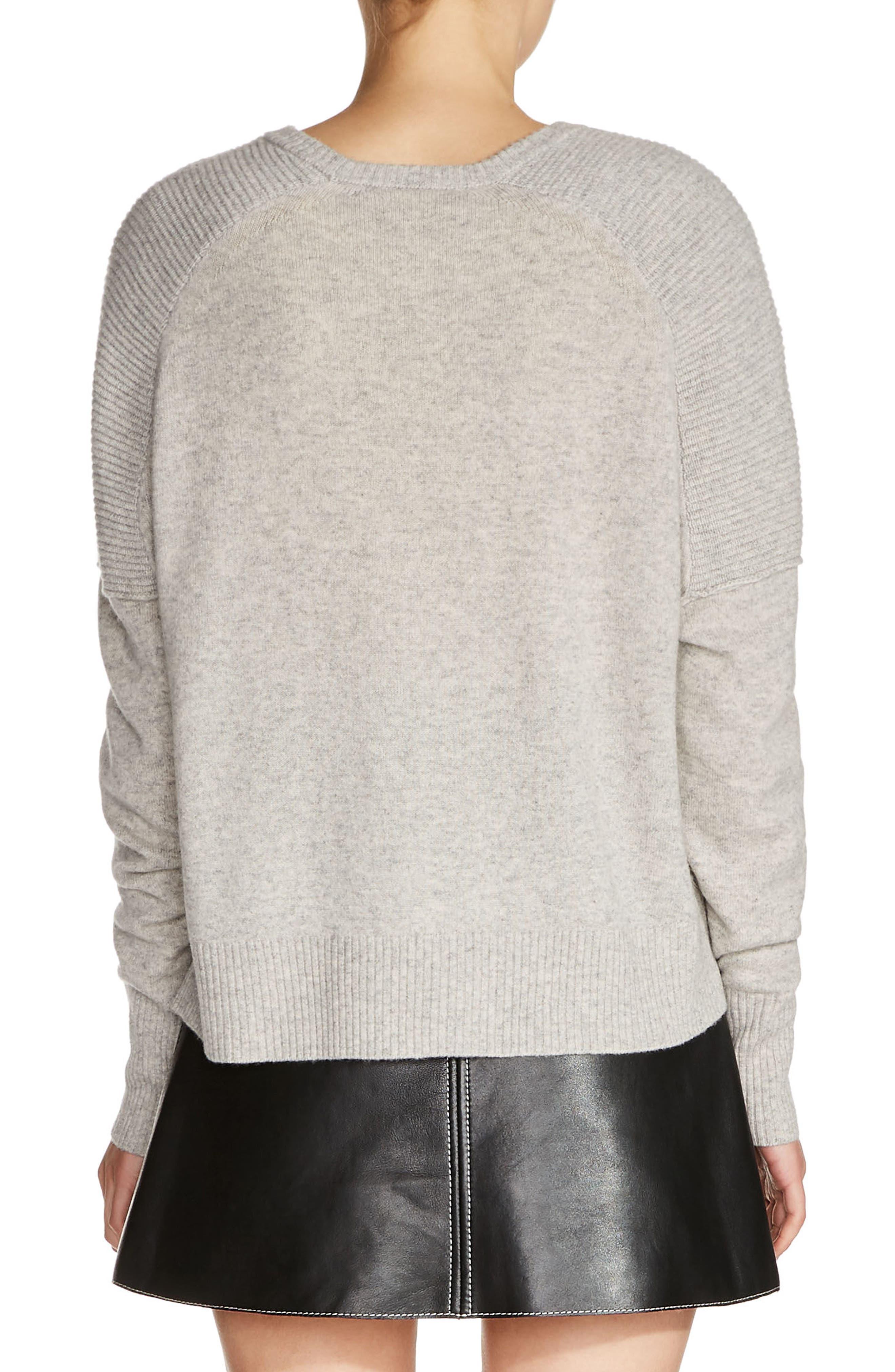 Cashmere Sweater,                             Alternate thumbnail 2, color,                             021