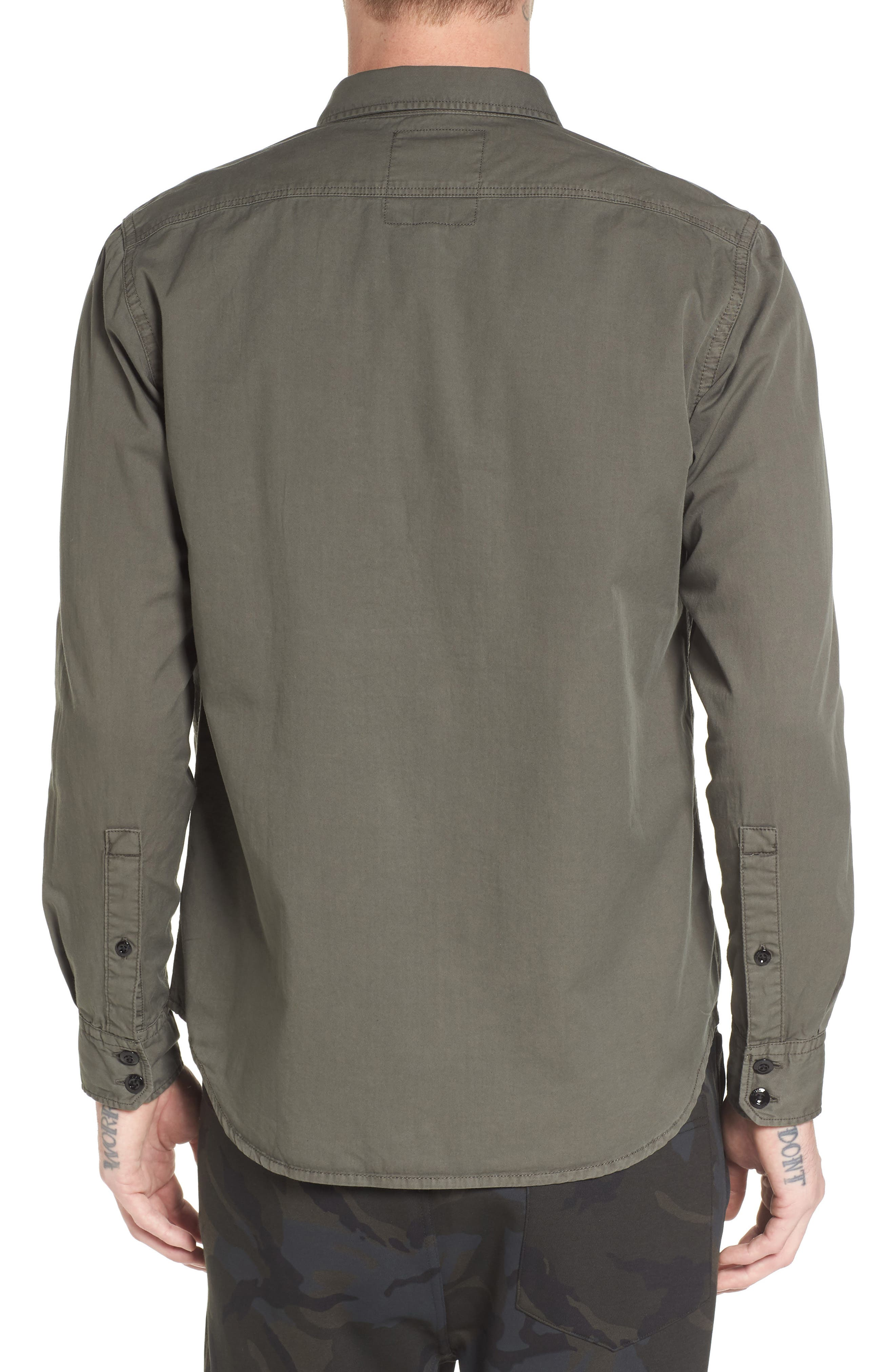 Powel Zip Pocket Shirt,                             Alternate thumbnail 2, color,                             020