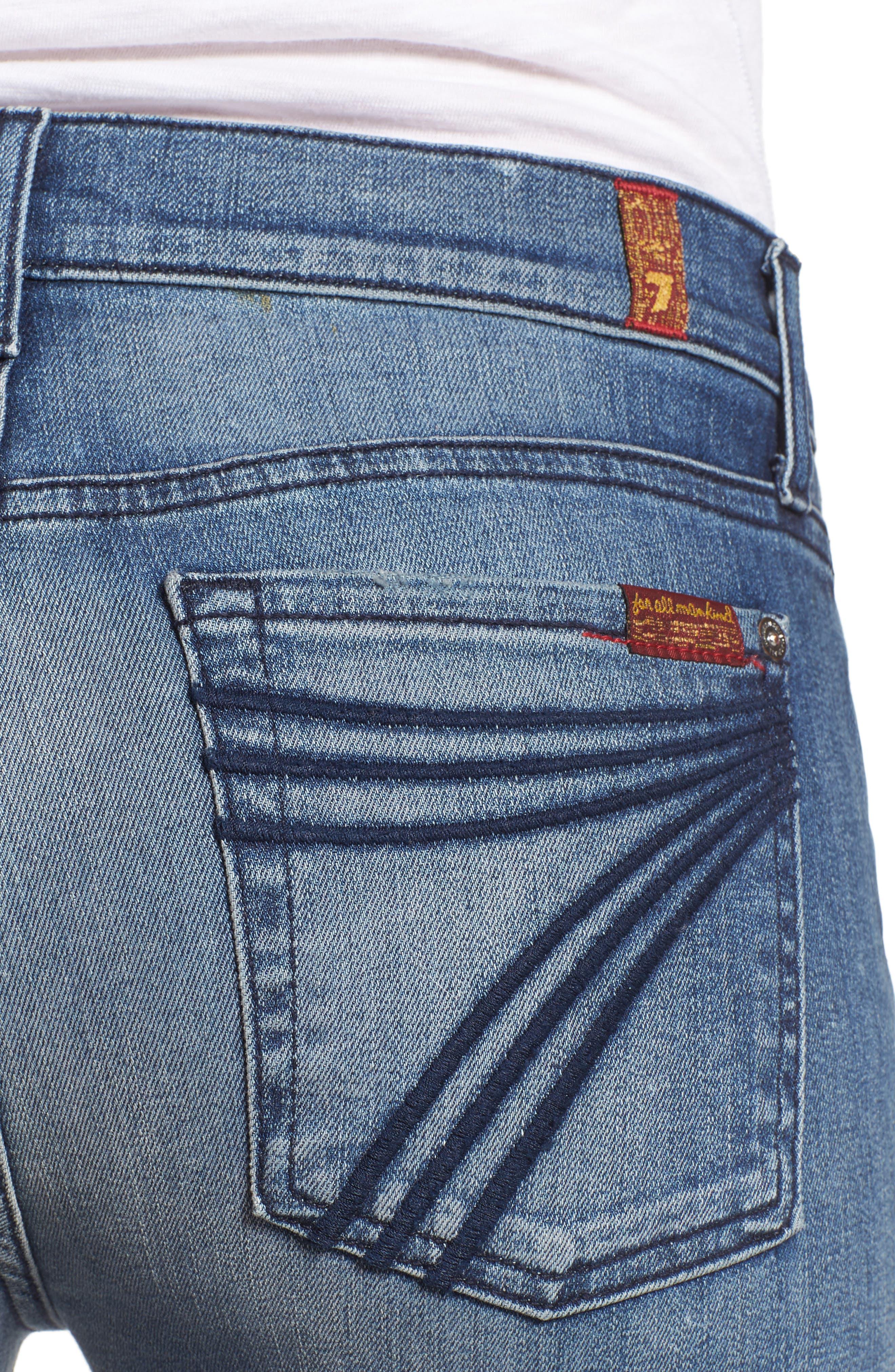 Tailorless Dojo Wide Leg Jeans,                             Alternate thumbnail 4, color,                             402