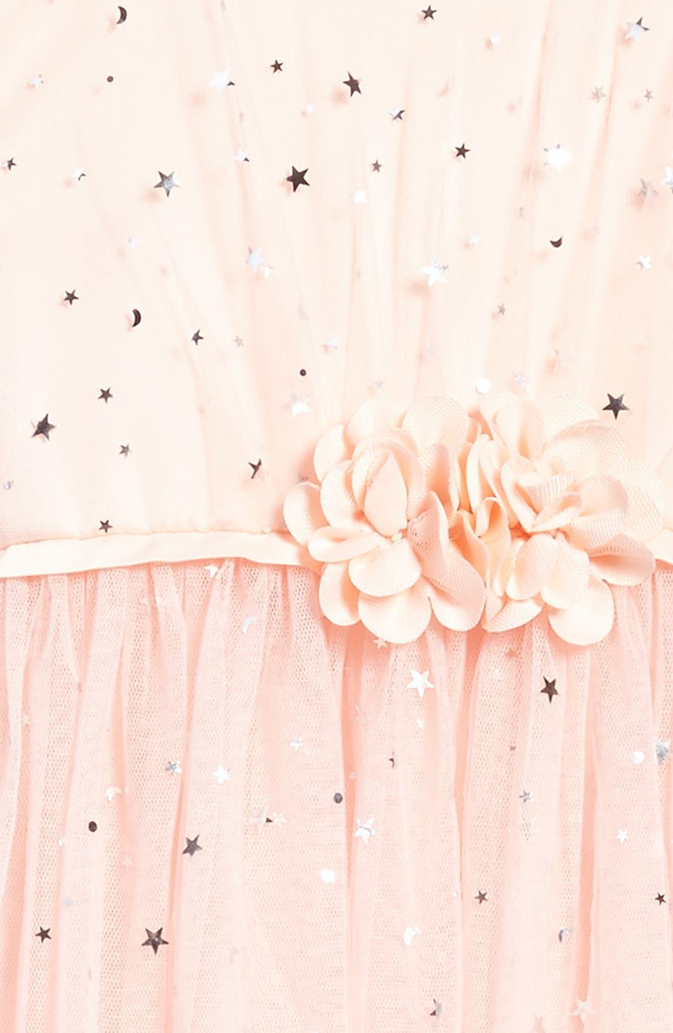Star Tulle Dress,                             Alternate thumbnail 3, color,