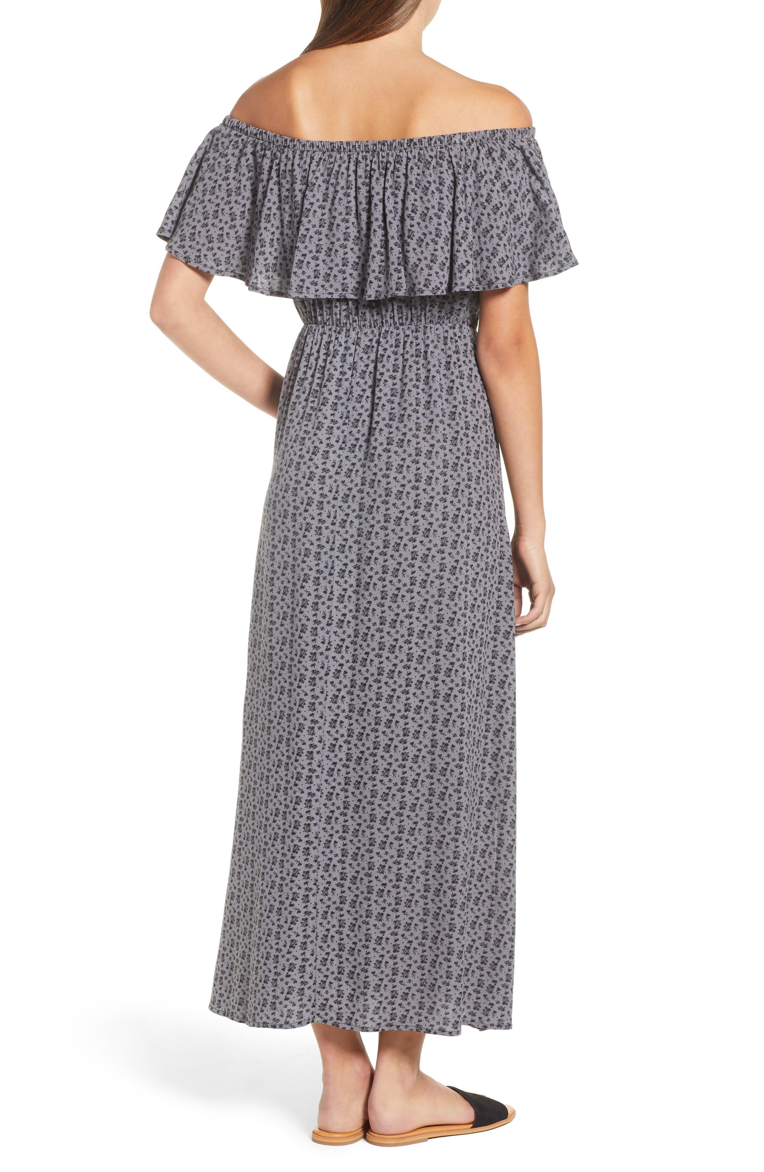 LIRA CLOTHING,                             Marissa Floral Print Off the Shoulder Dress,                             Alternate thumbnail 2, color,                             250