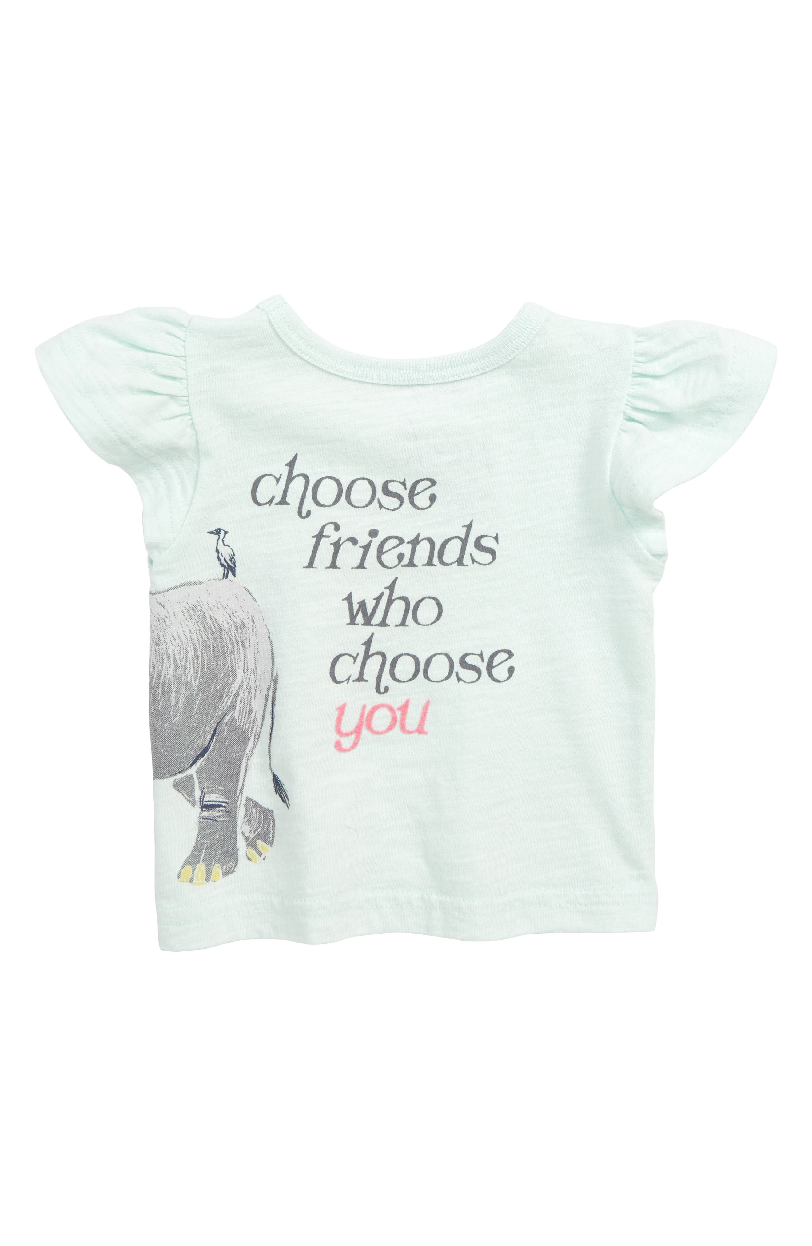 Choose Friends Graphic Tee,                             Alternate thumbnail 2, color,                             137