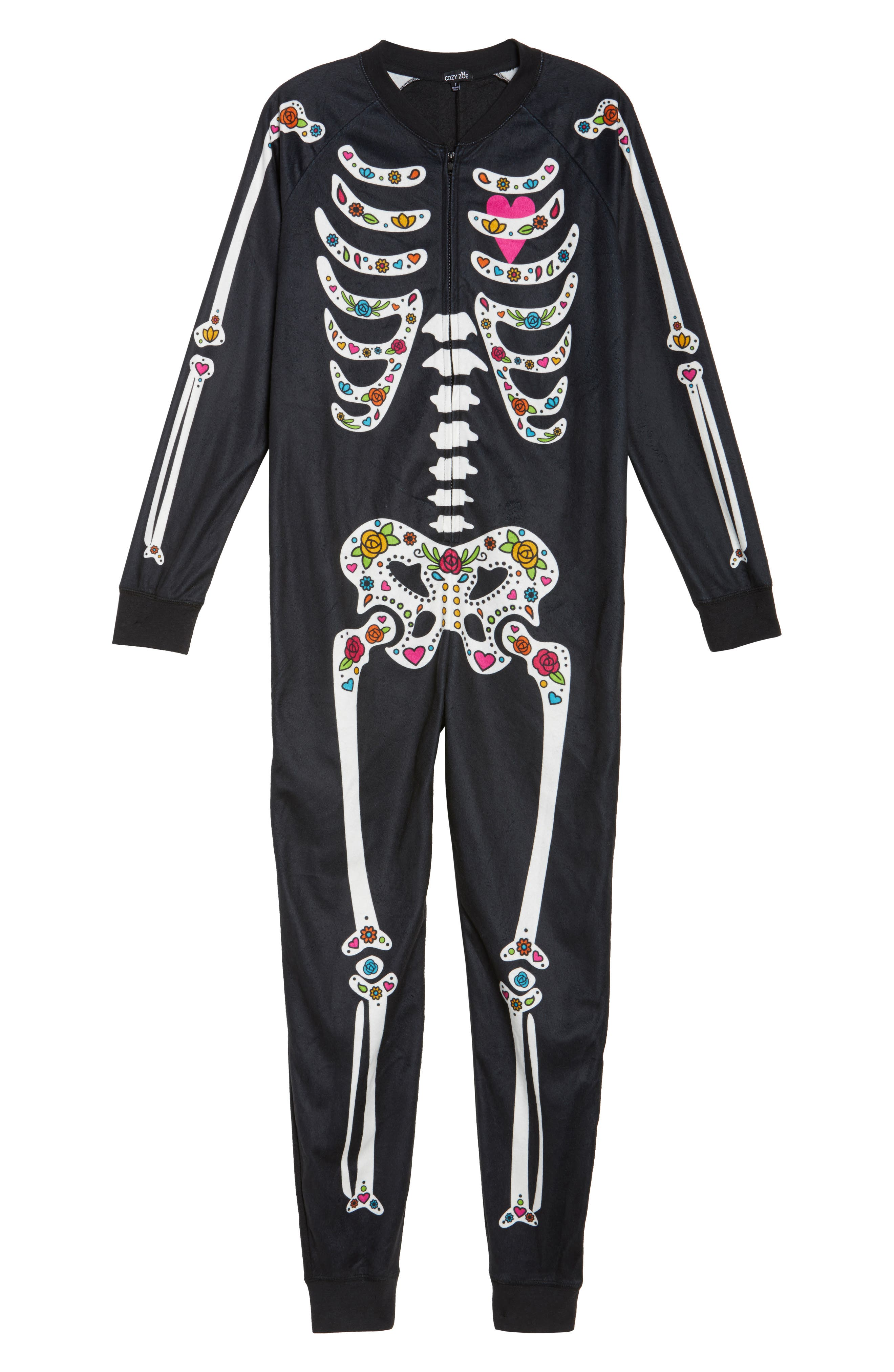 Pajama Jumpsuit,                             Alternate thumbnail 6, color,                             001