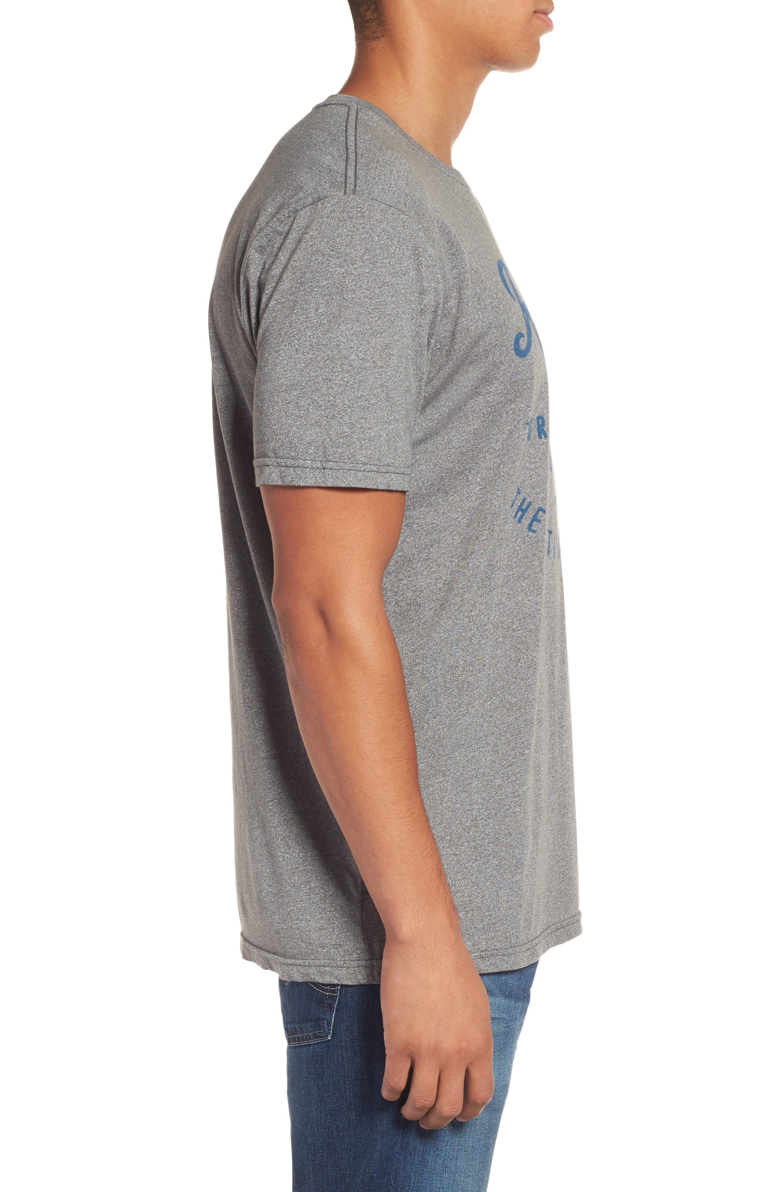 Era Mock Twist Logo Graphic T-Shirt,                             Alternate thumbnail 3, color,                             060