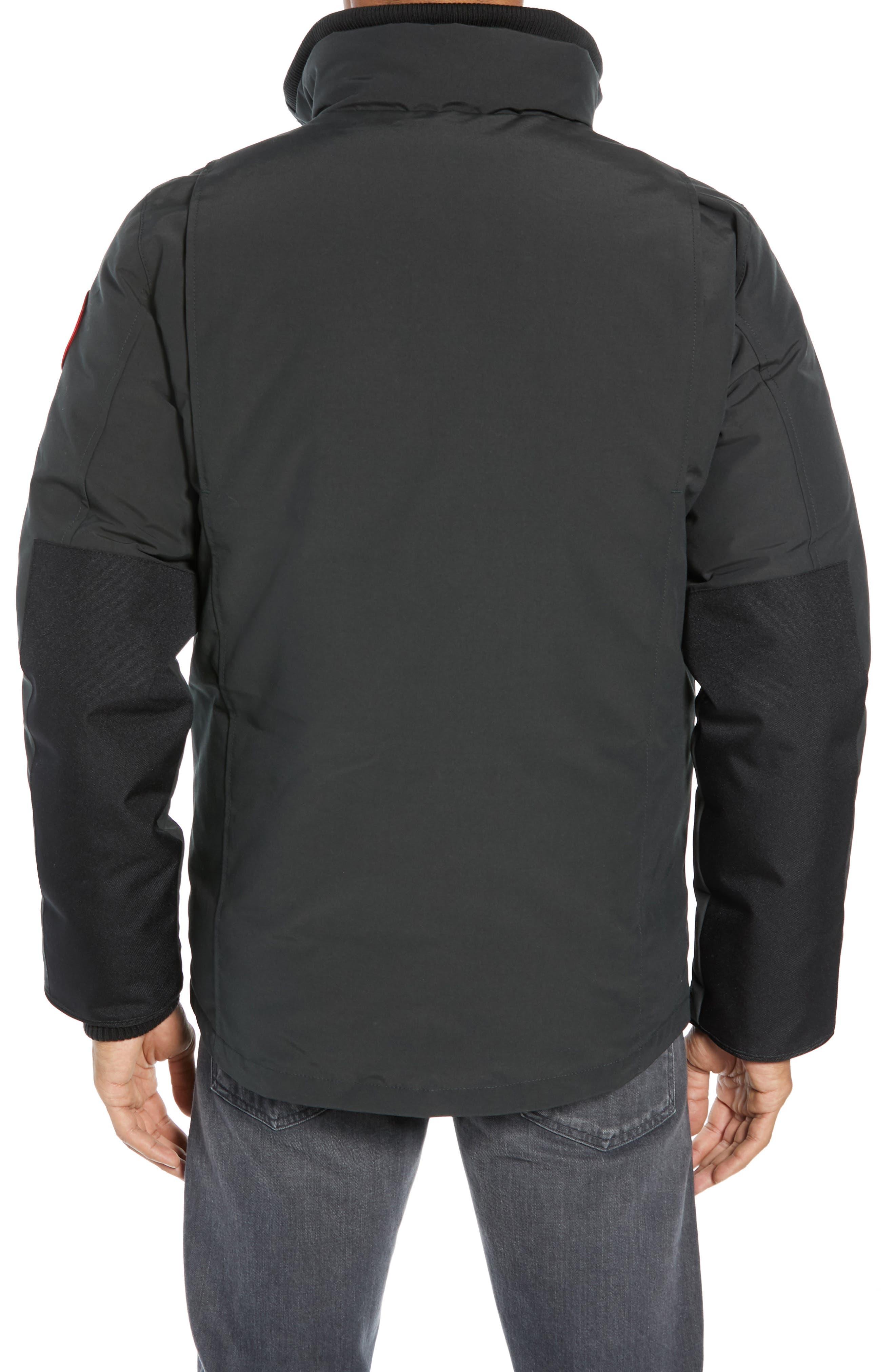 CANADA GOOSE,                             Forester Slim Fit Jacket,                             Alternate thumbnail 2, color,                             BLACK