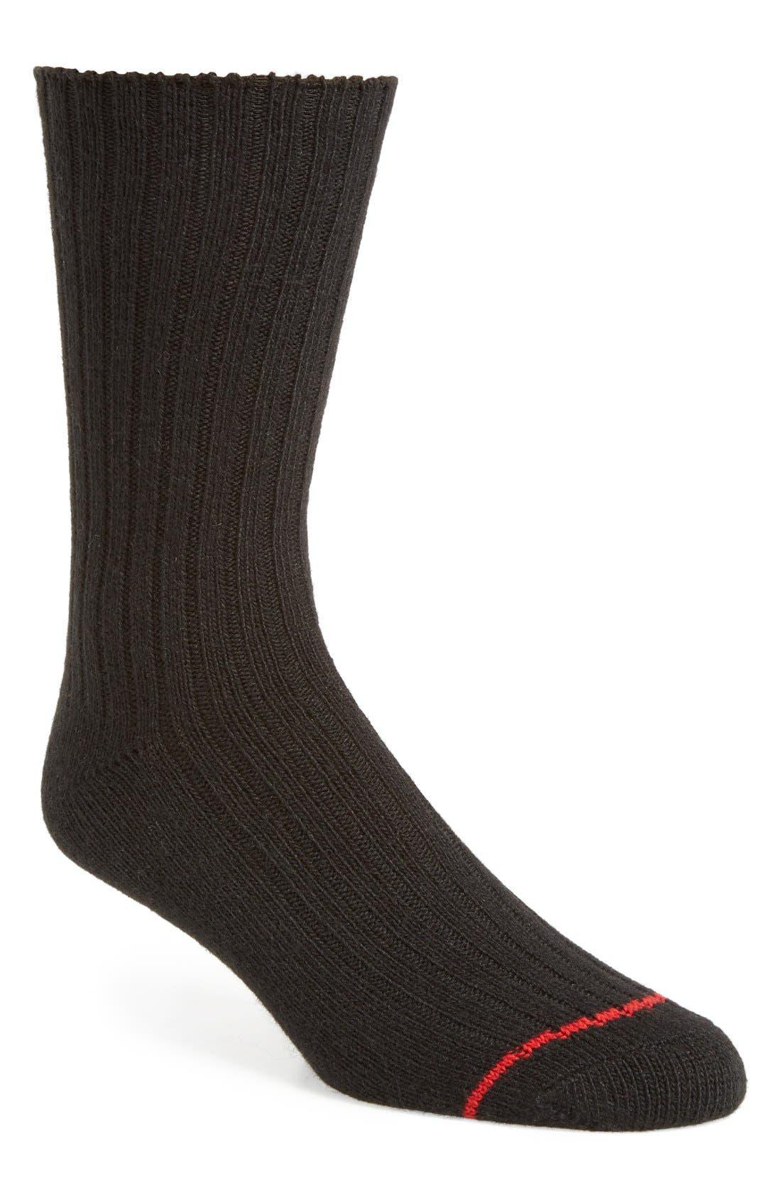UGG 'Classic' Heathered Socks,                             Main thumbnail 1, color,                             001