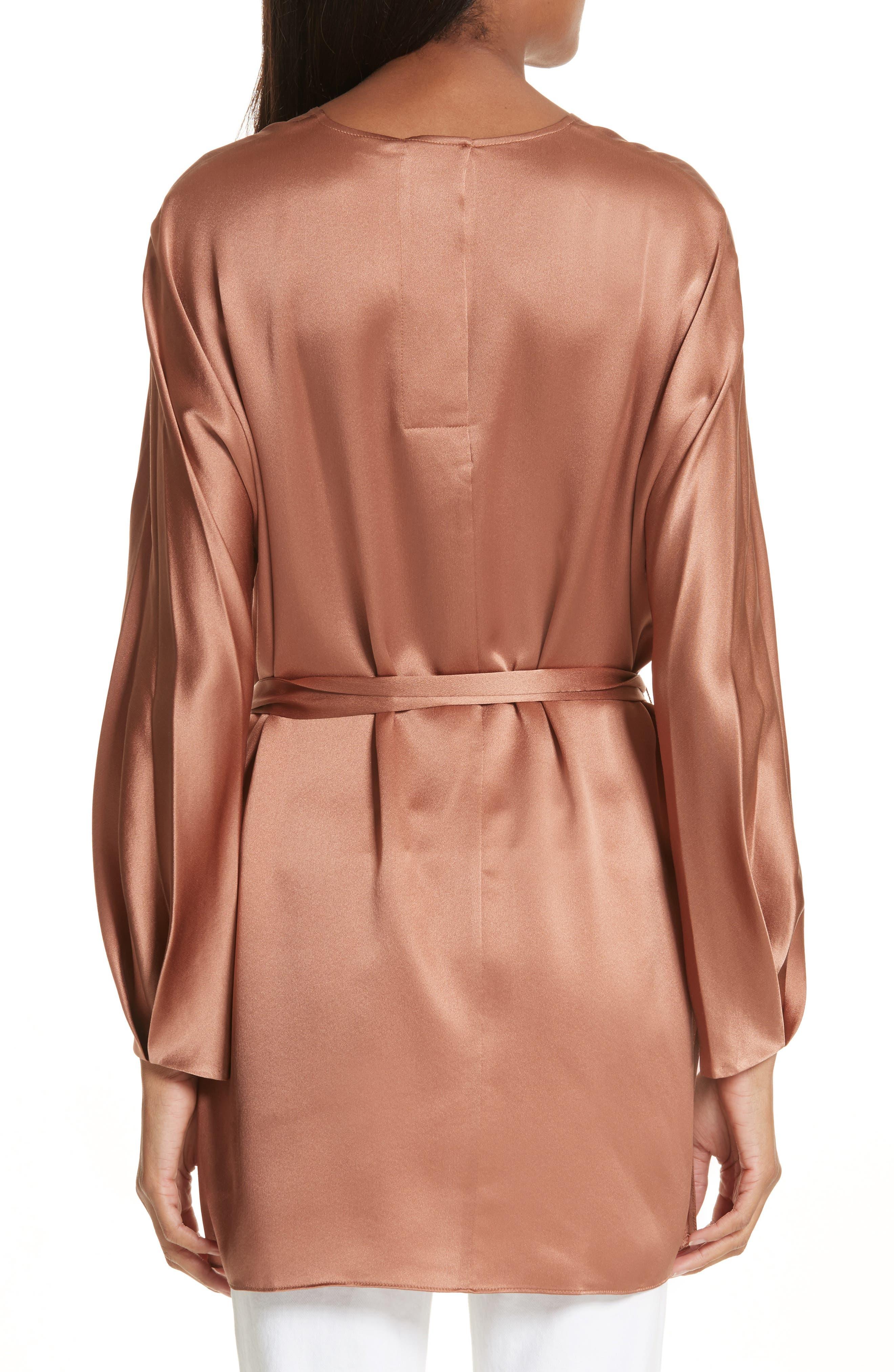Seam Front Silk Dress,                             Alternate thumbnail 2, color,                             223