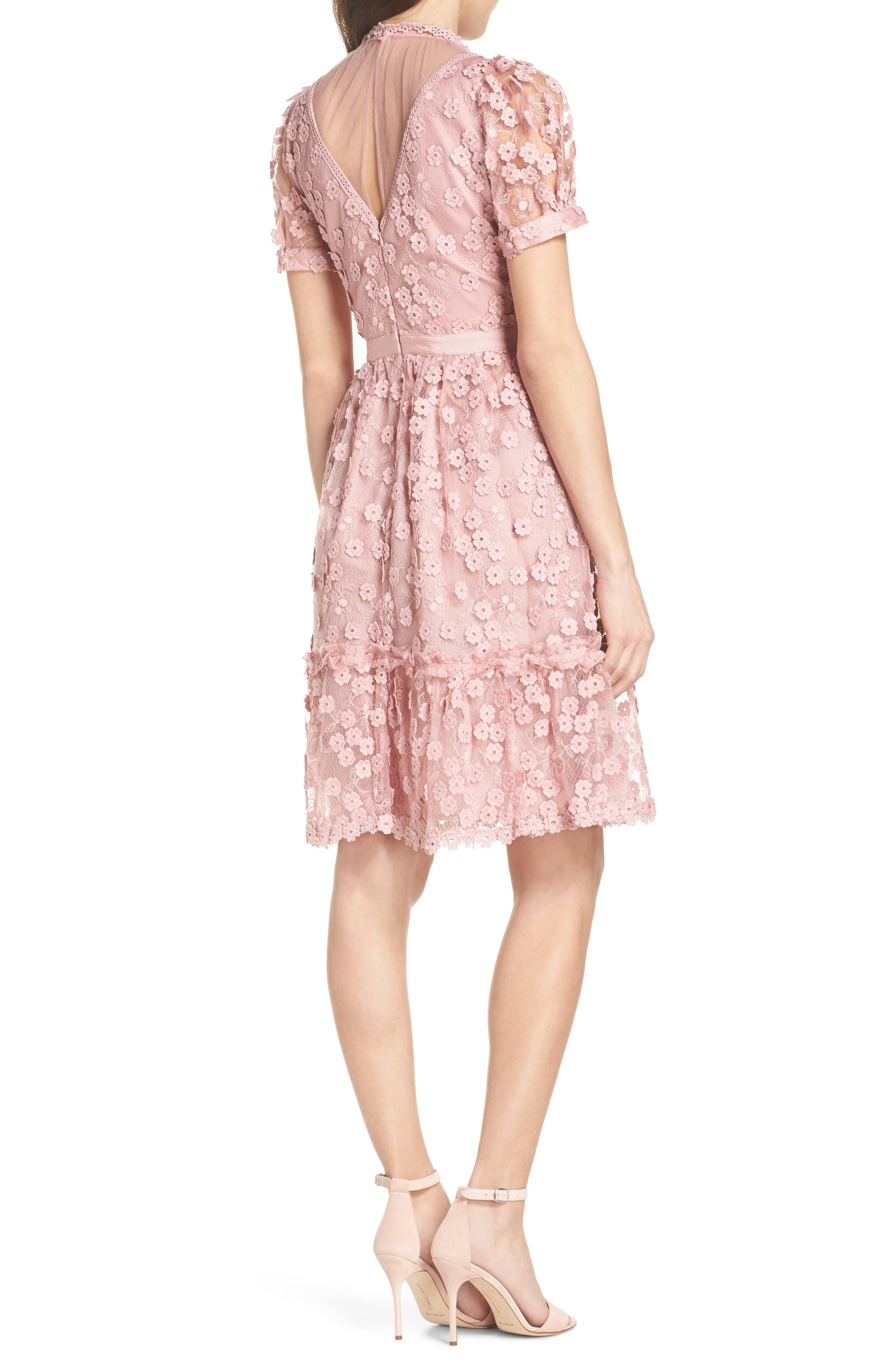 Caballo Lace Dress,                             Alternate thumbnail 2, color,                             655