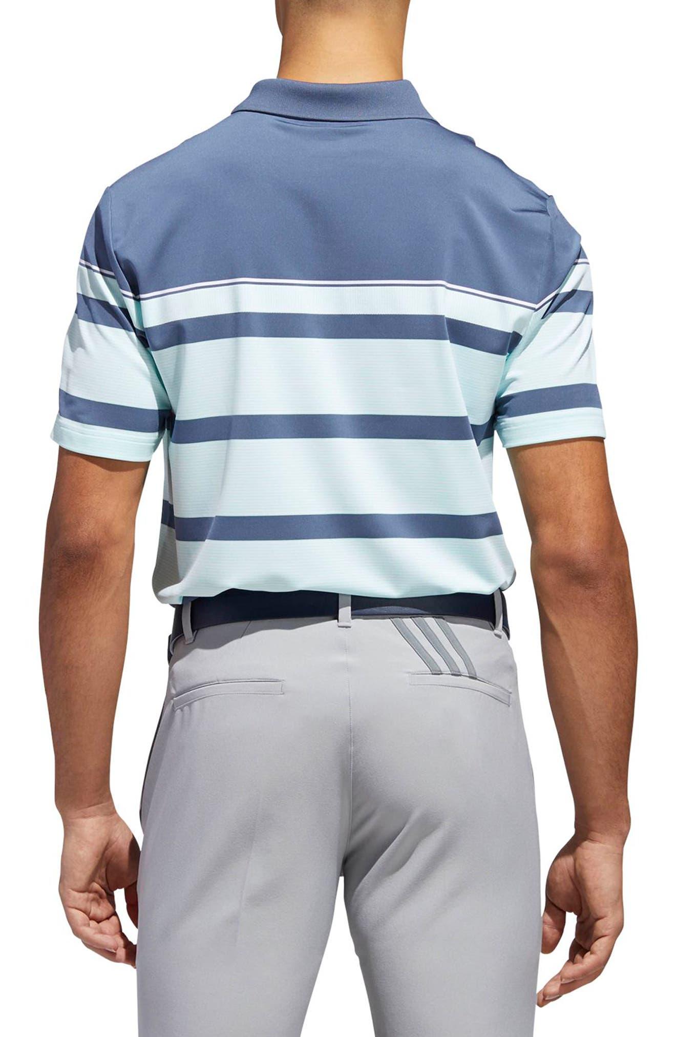 Stripe Fashion Tech Polo,                             Alternate thumbnail 2, color,                             407