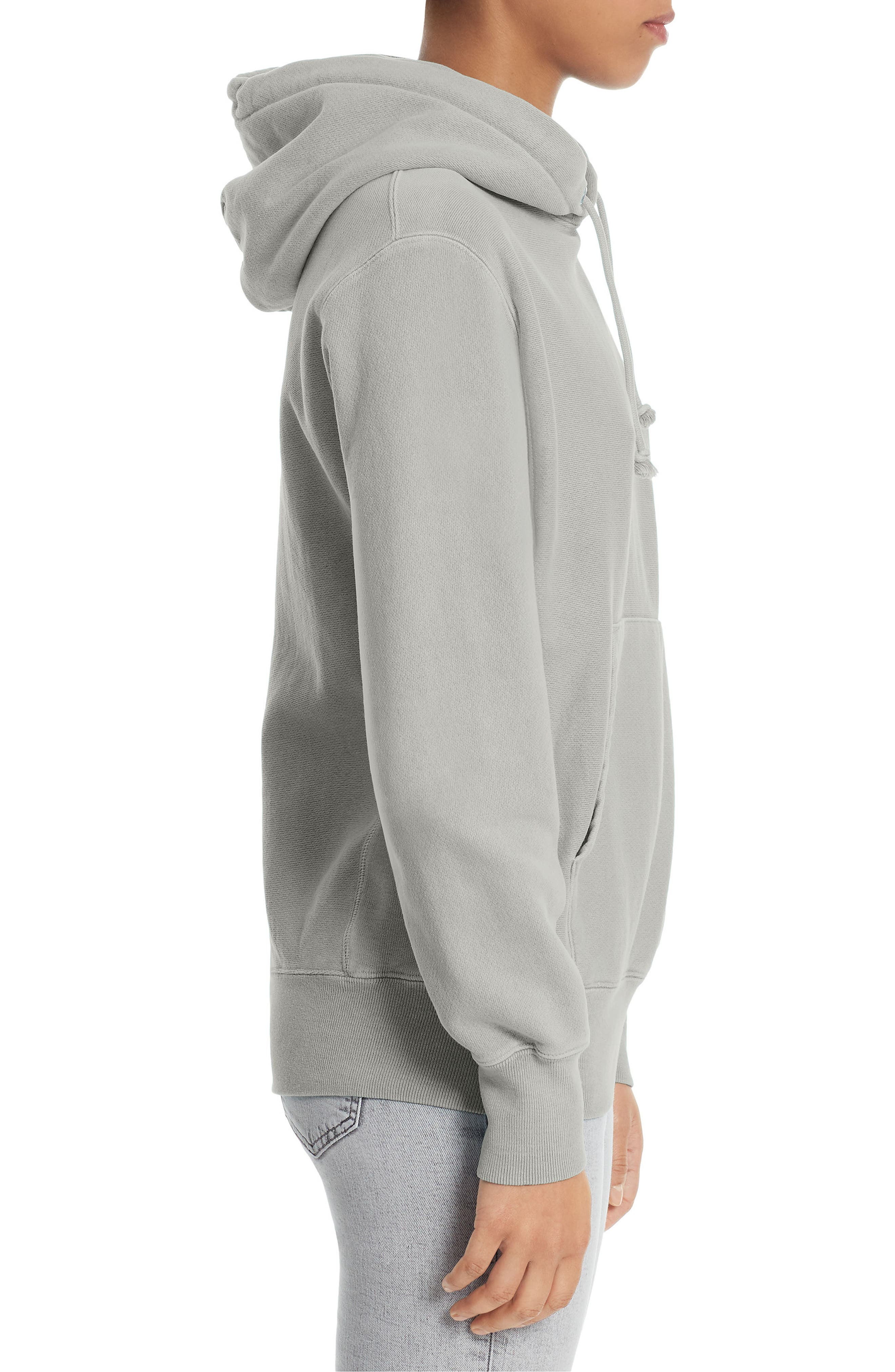 Reverse Weave<sup>®</sup> Pullover Hoodie,                             Alternate thumbnail 3, color,                             020