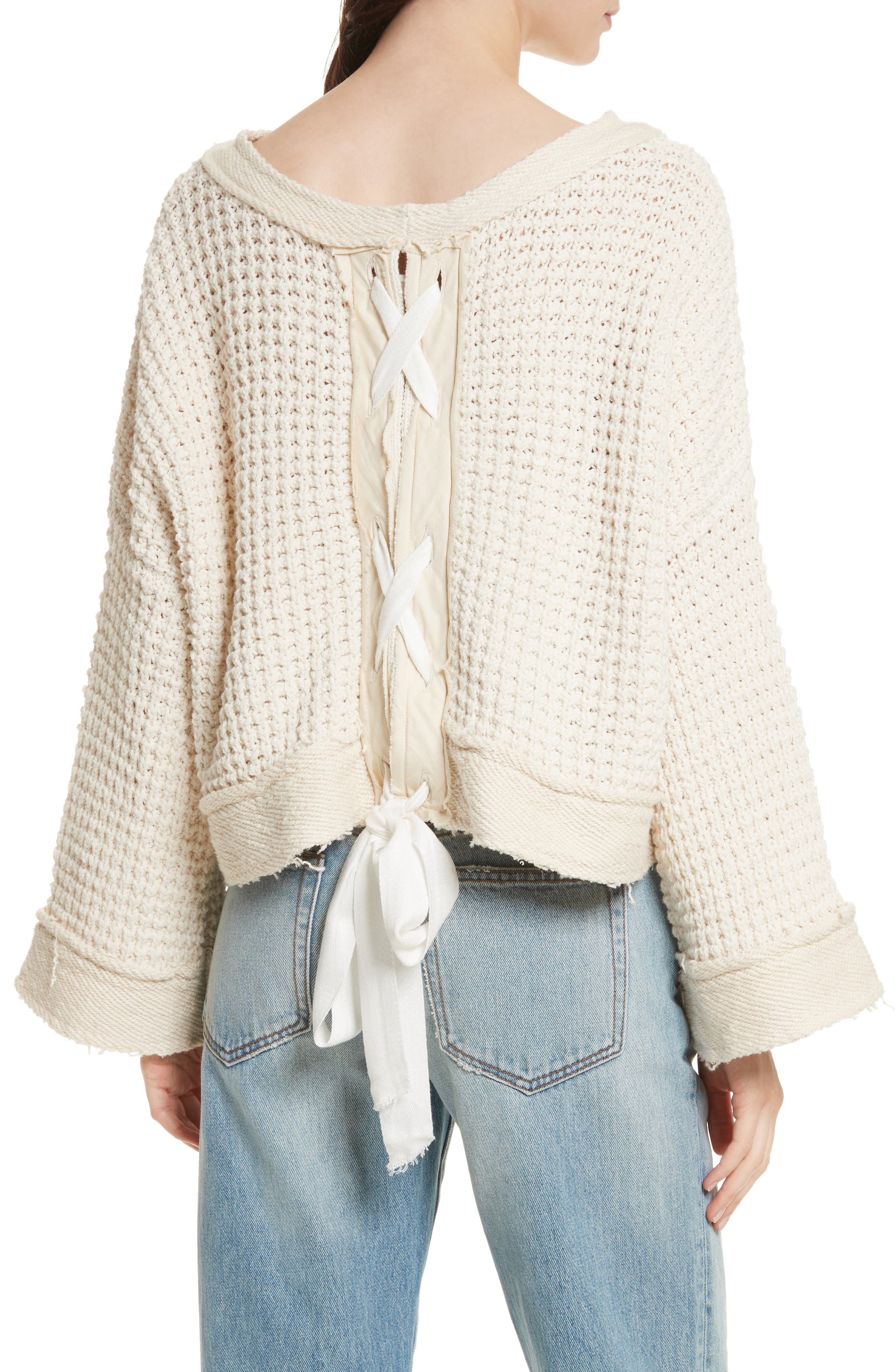 Maybe Baby Bell Sleeve Sweater,                             Alternate thumbnail 4, color,