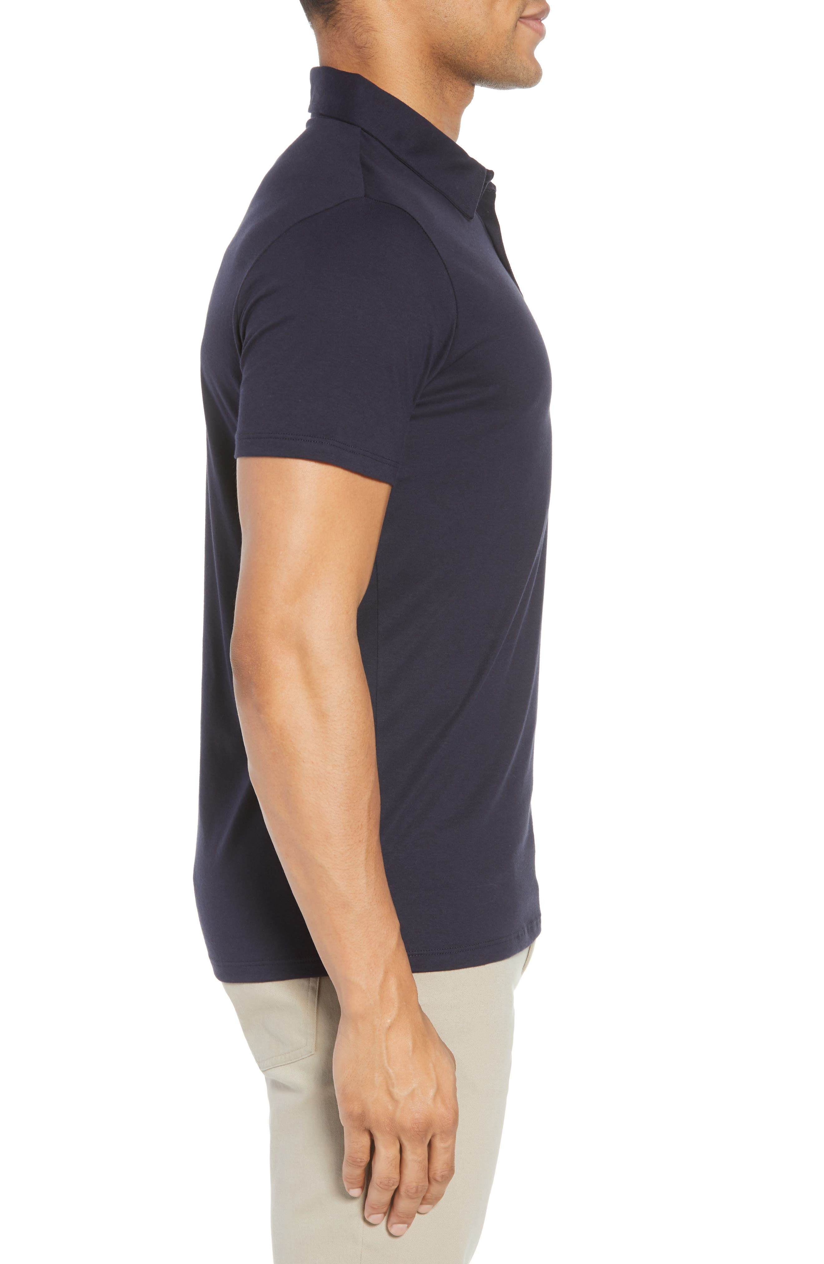 Refined Jersey Polo,                             Alternate thumbnail 21, color,
