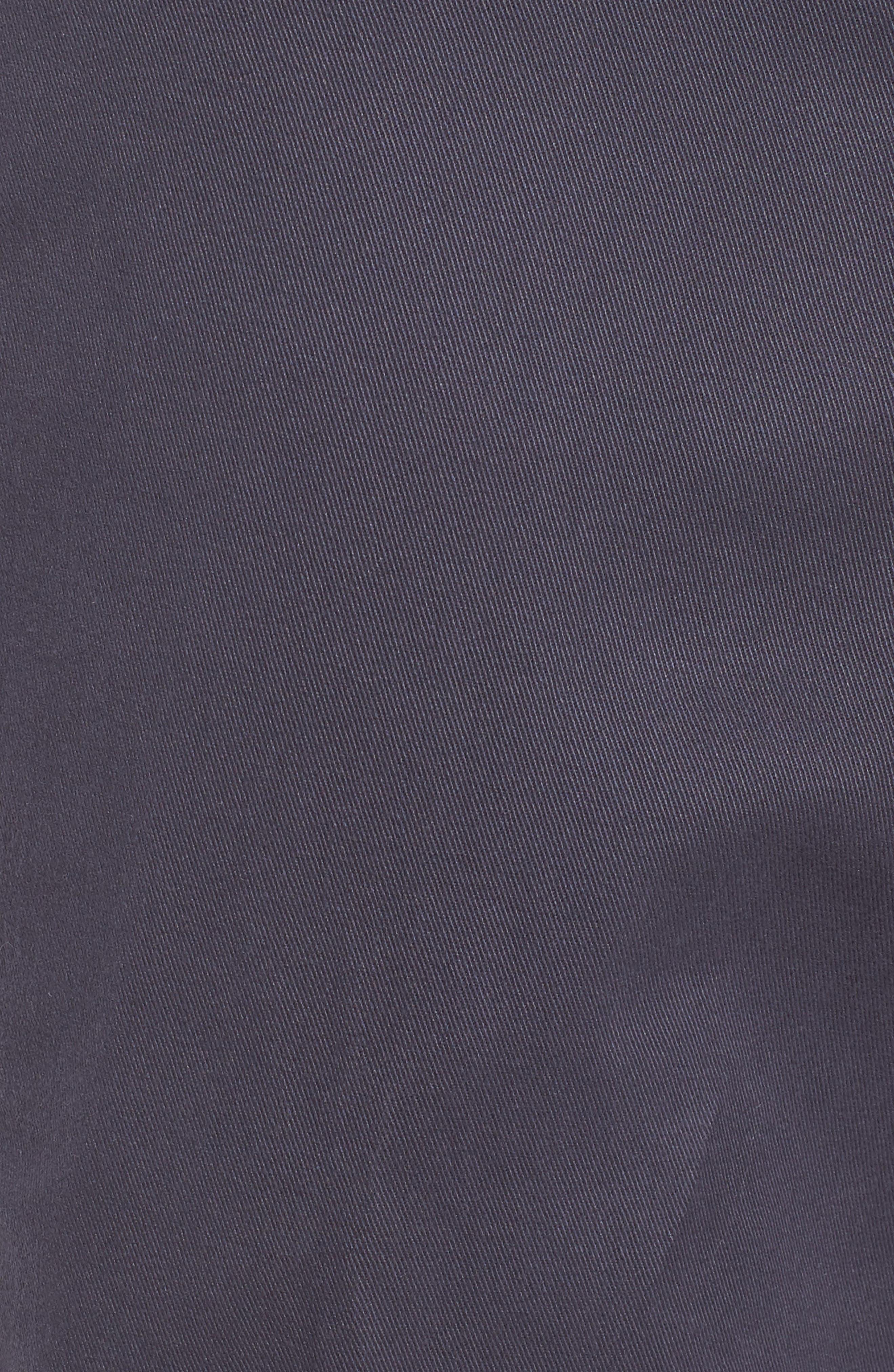 M2 Classic Fit Flat Front Vintage Twill Pants,                             Alternate thumbnail 5, color,                             410