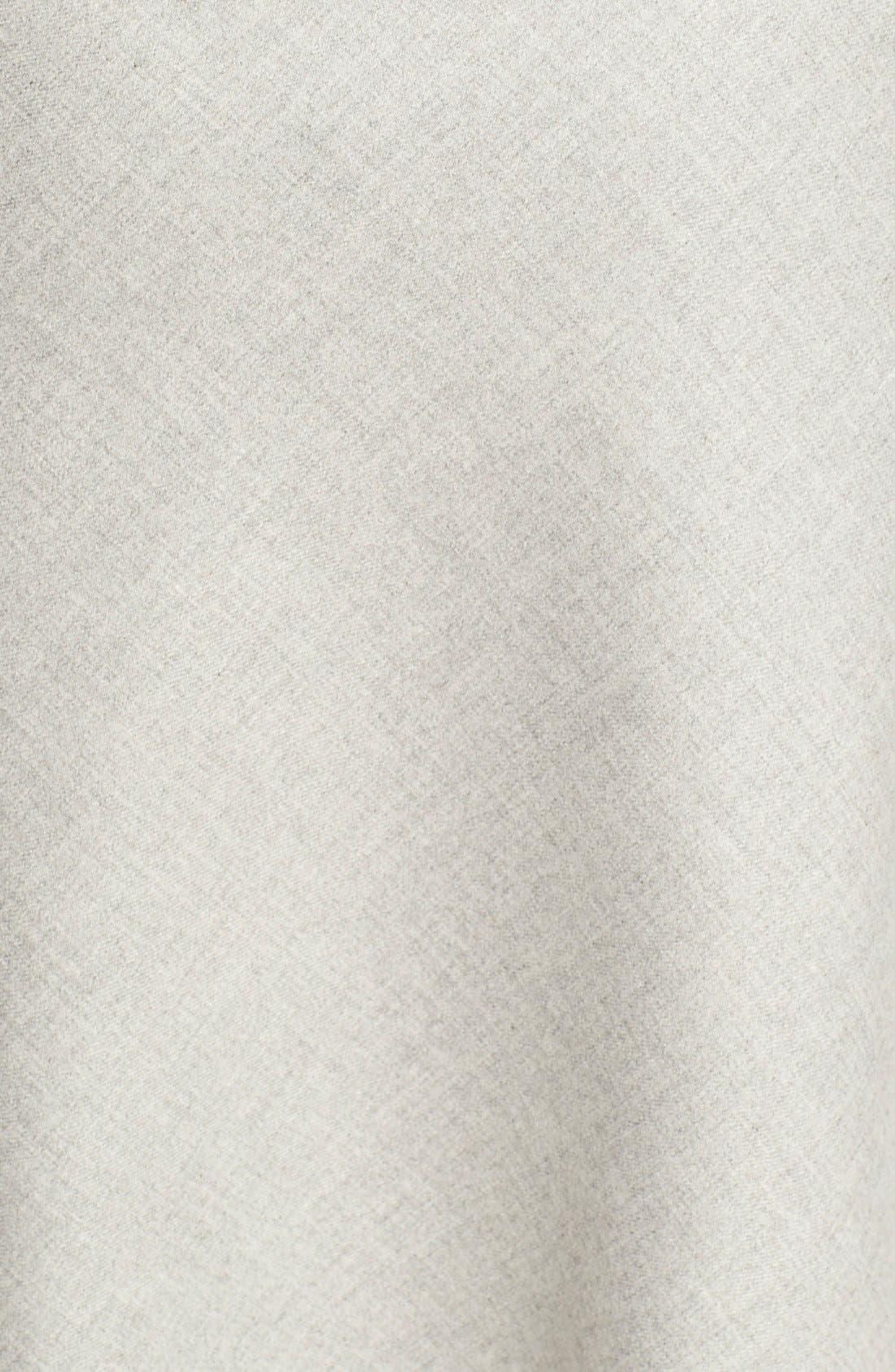 'Jahneem' Flannel Skirt,                             Alternate thumbnail 4, color,                             050