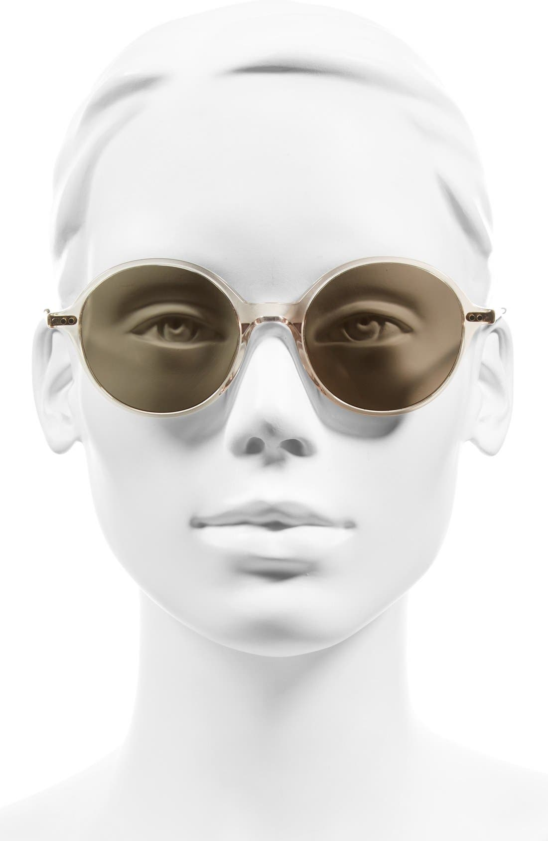 Corby 51mm Round Sunglasses,                             Alternate thumbnail 7, color,