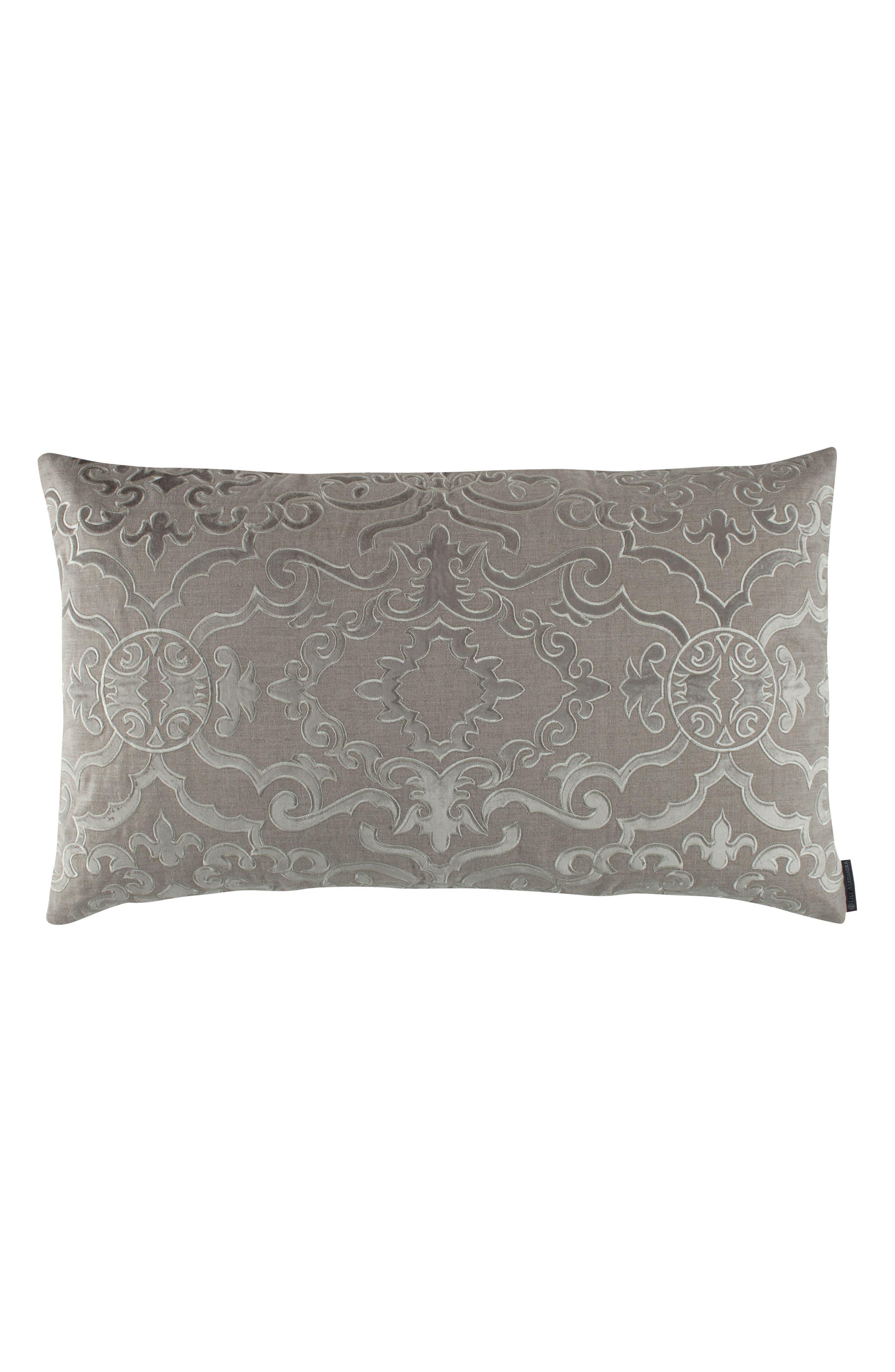 Valencia Accent Pillow,                         Main,                         color, STONE