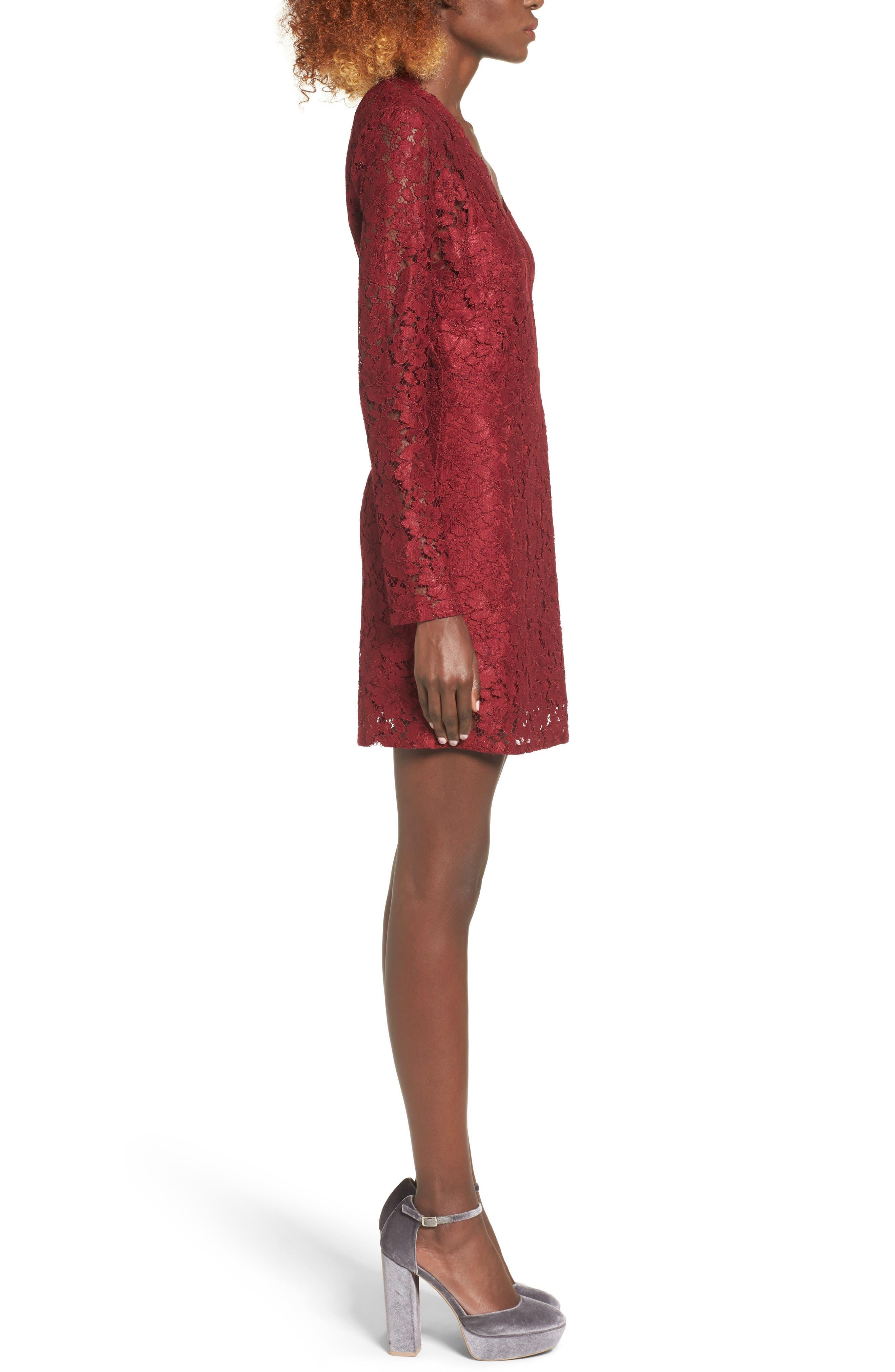 Say It Out Loud Lace Dress,                             Alternate thumbnail 16, color,