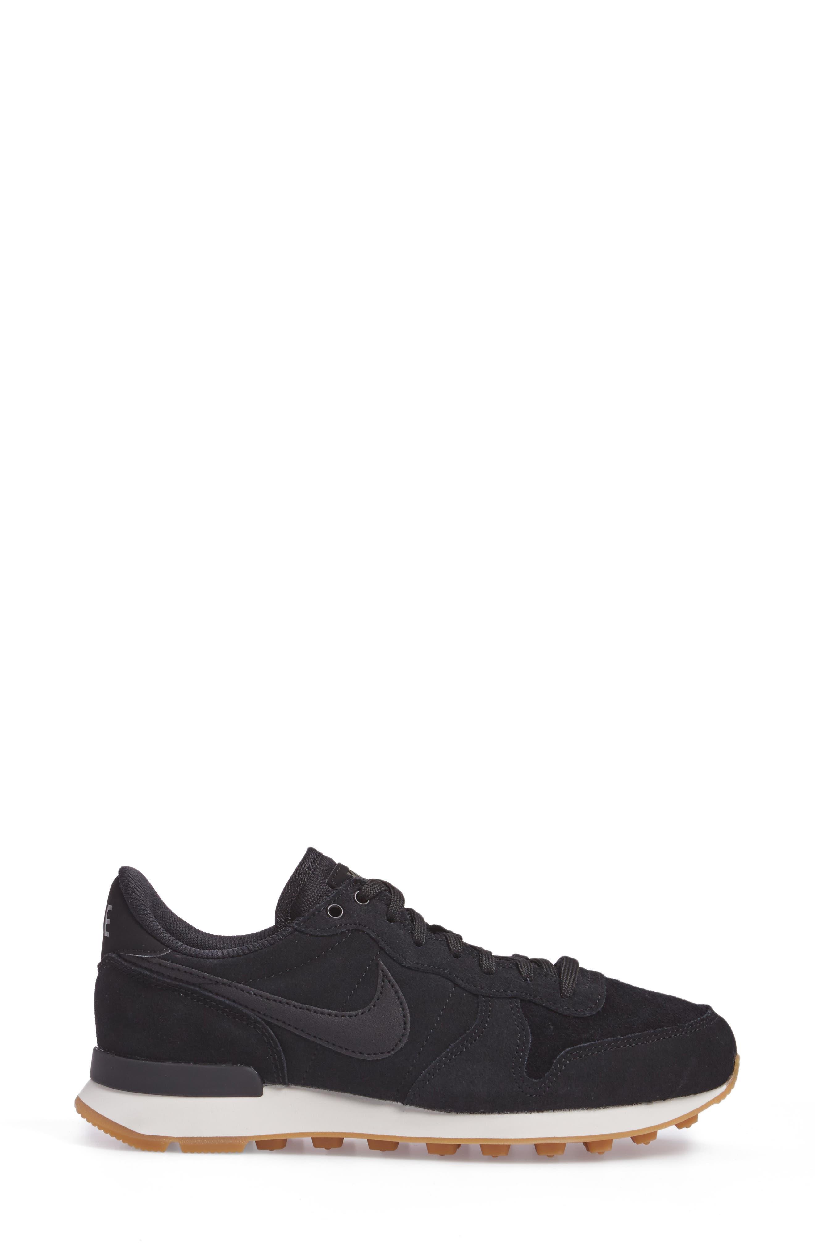 Internationalist SE Sneaker,                             Alternate thumbnail 3, color,                             002