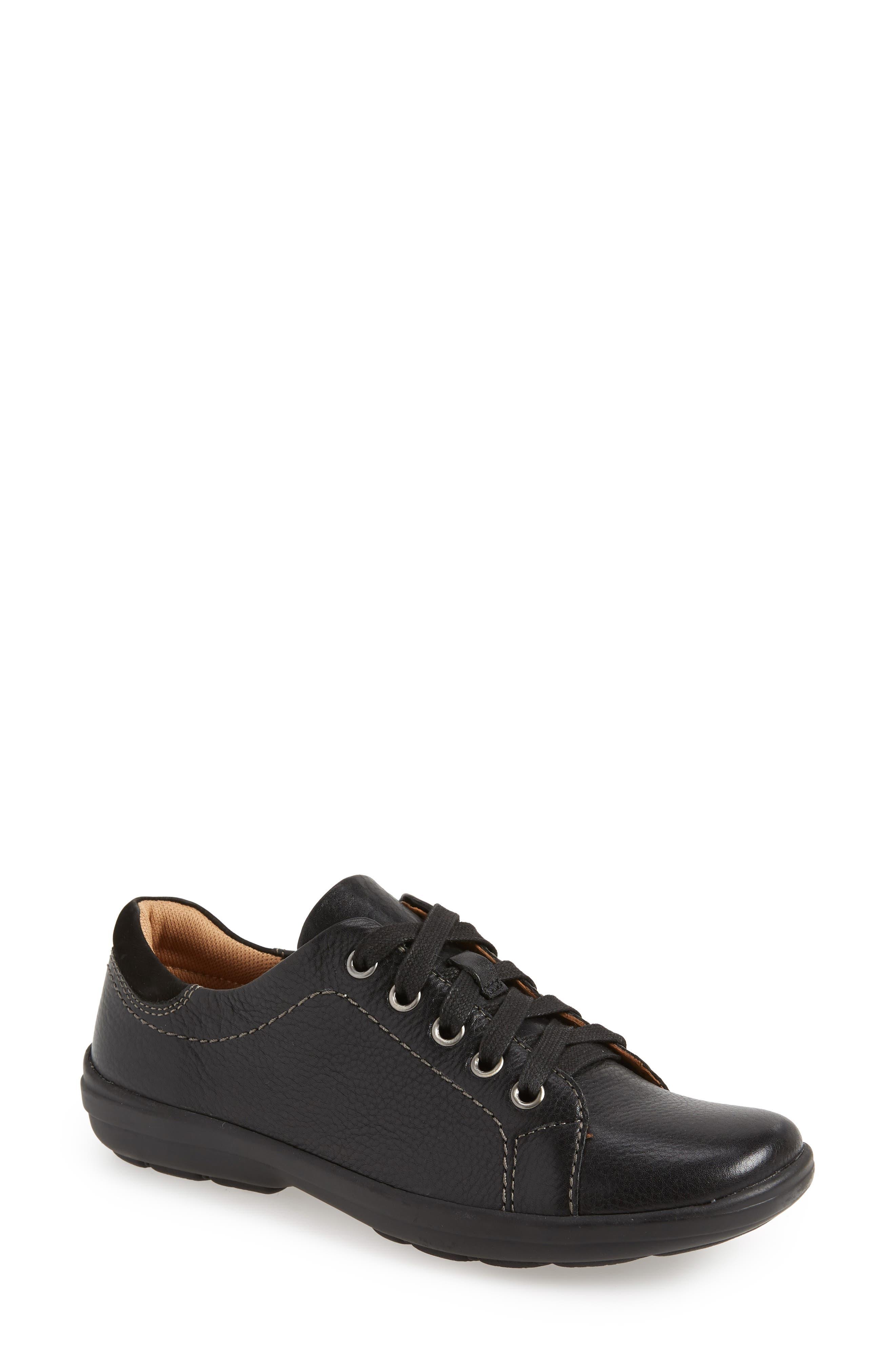 Reston Sneaker, Main, color, BLACK
