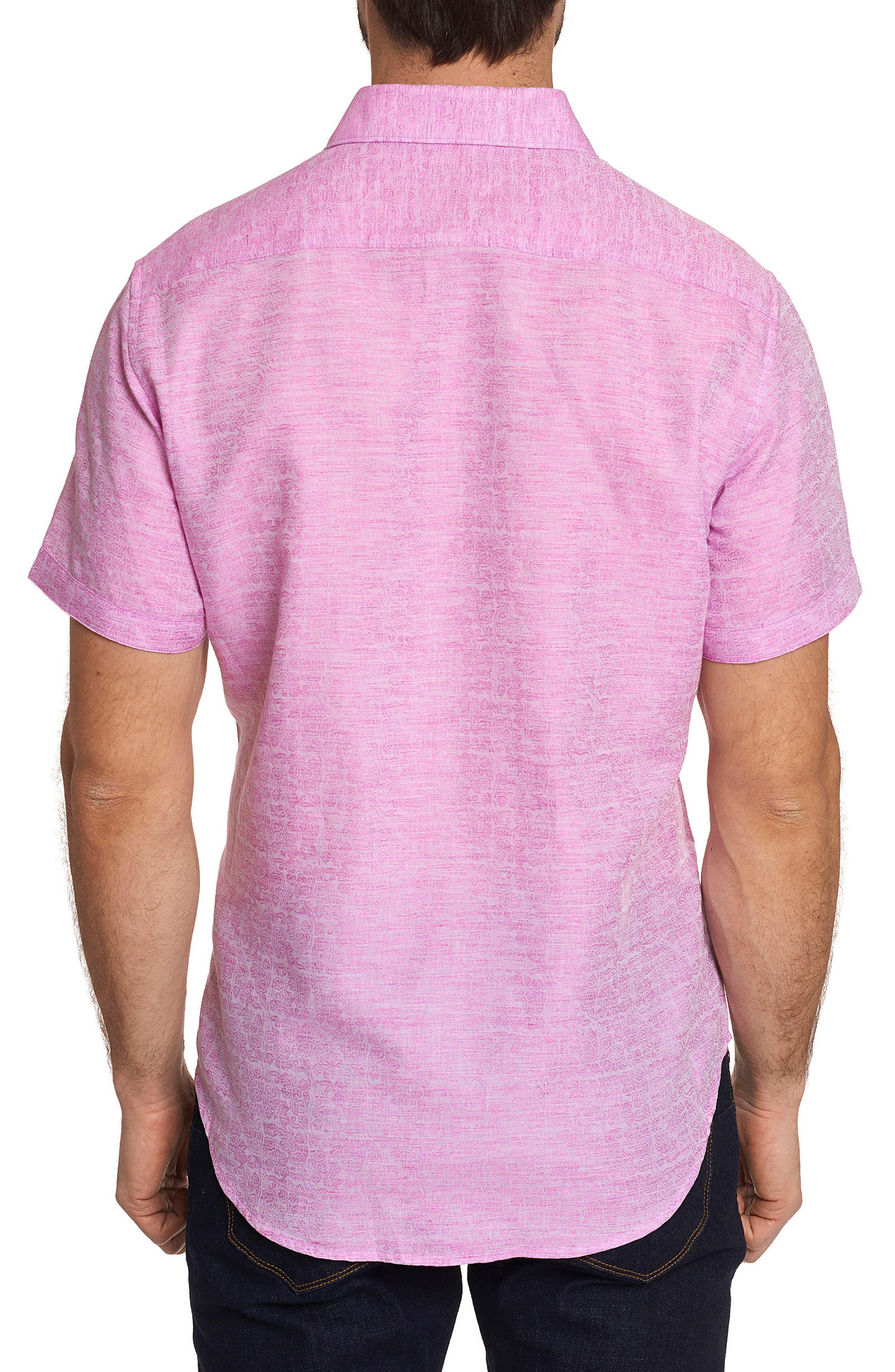 Cyprus Classic Fit Linen & Cotton Sport Shirt,                             Alternate thumbnail 7, color,